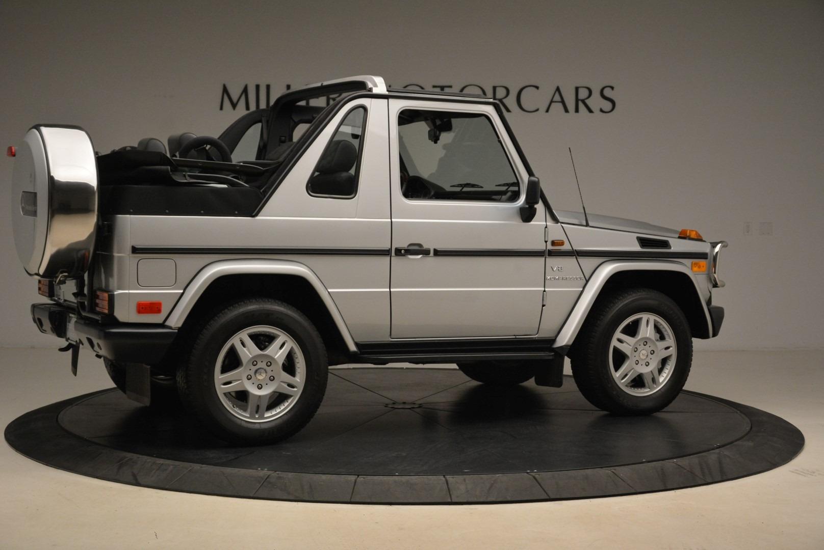 Used 2000 Mercedes-Benz G500 RENNTech  For Sale In Westport, CT 2184_p8