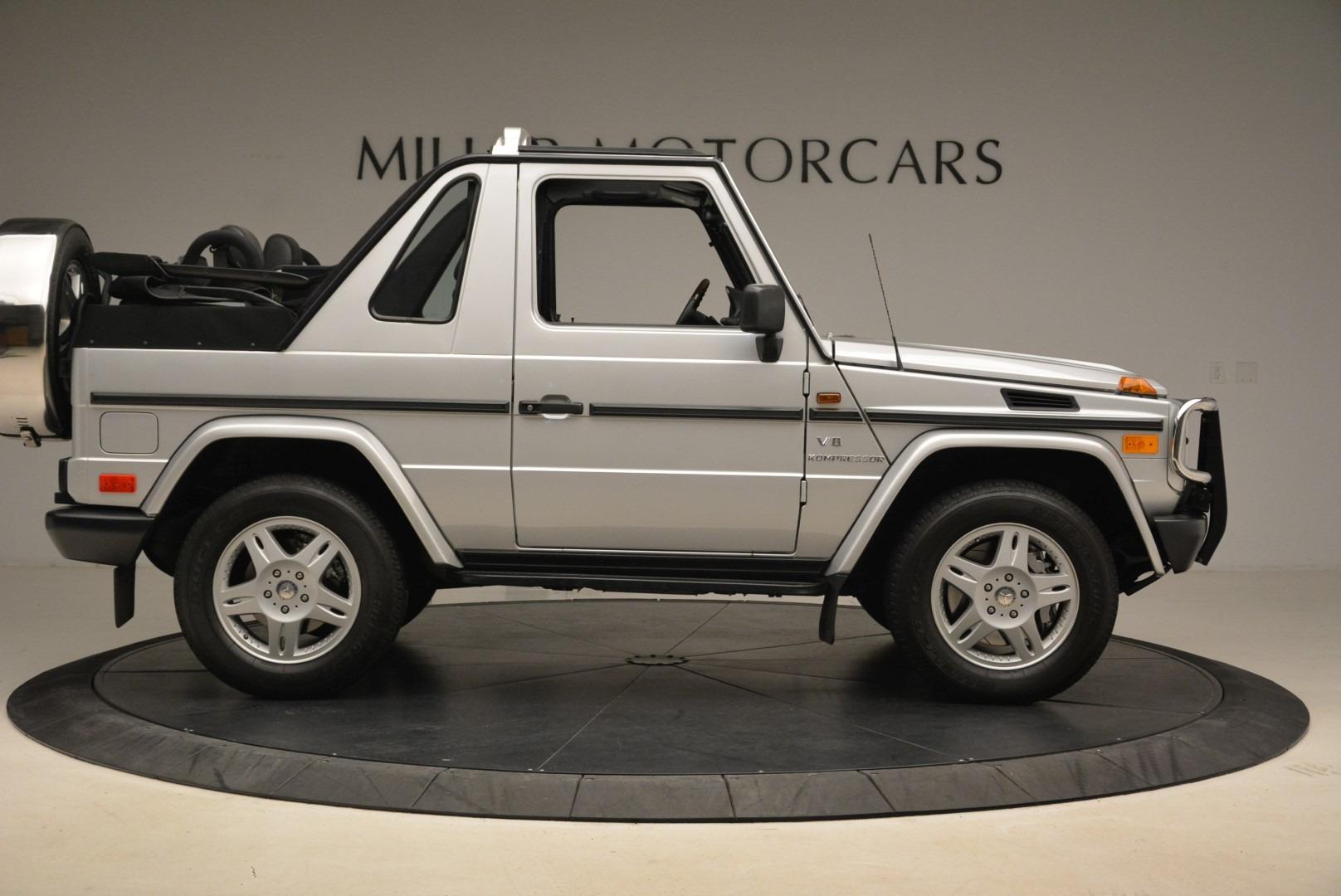 Used 2000 Mercedes-Benz G500 RENNTech  For Sale In Westport, CT 2184_p9