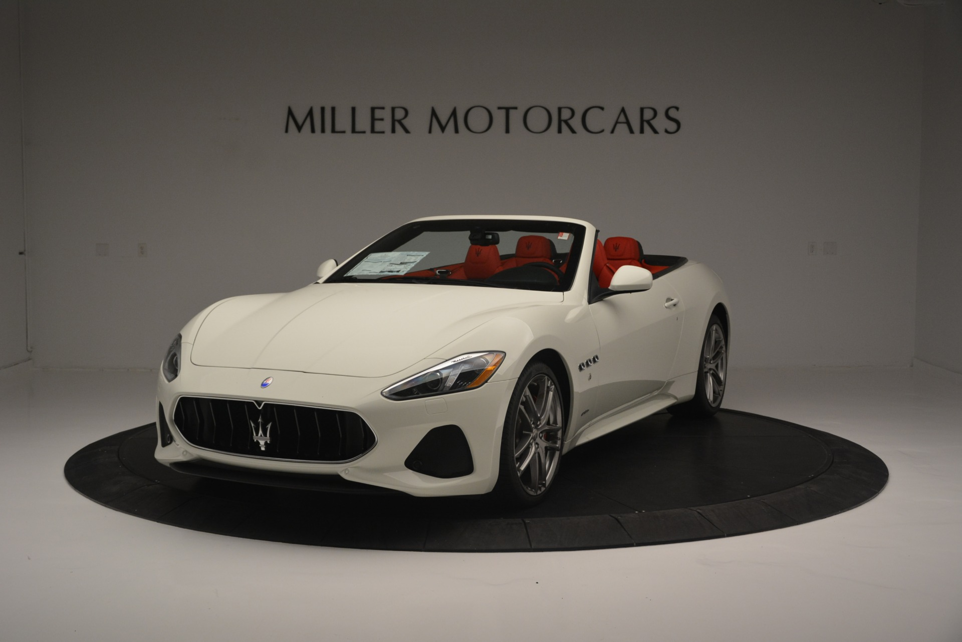 New 2018 Maserati GranTurismo Sport For Sale In Westport, CT 2187_main
