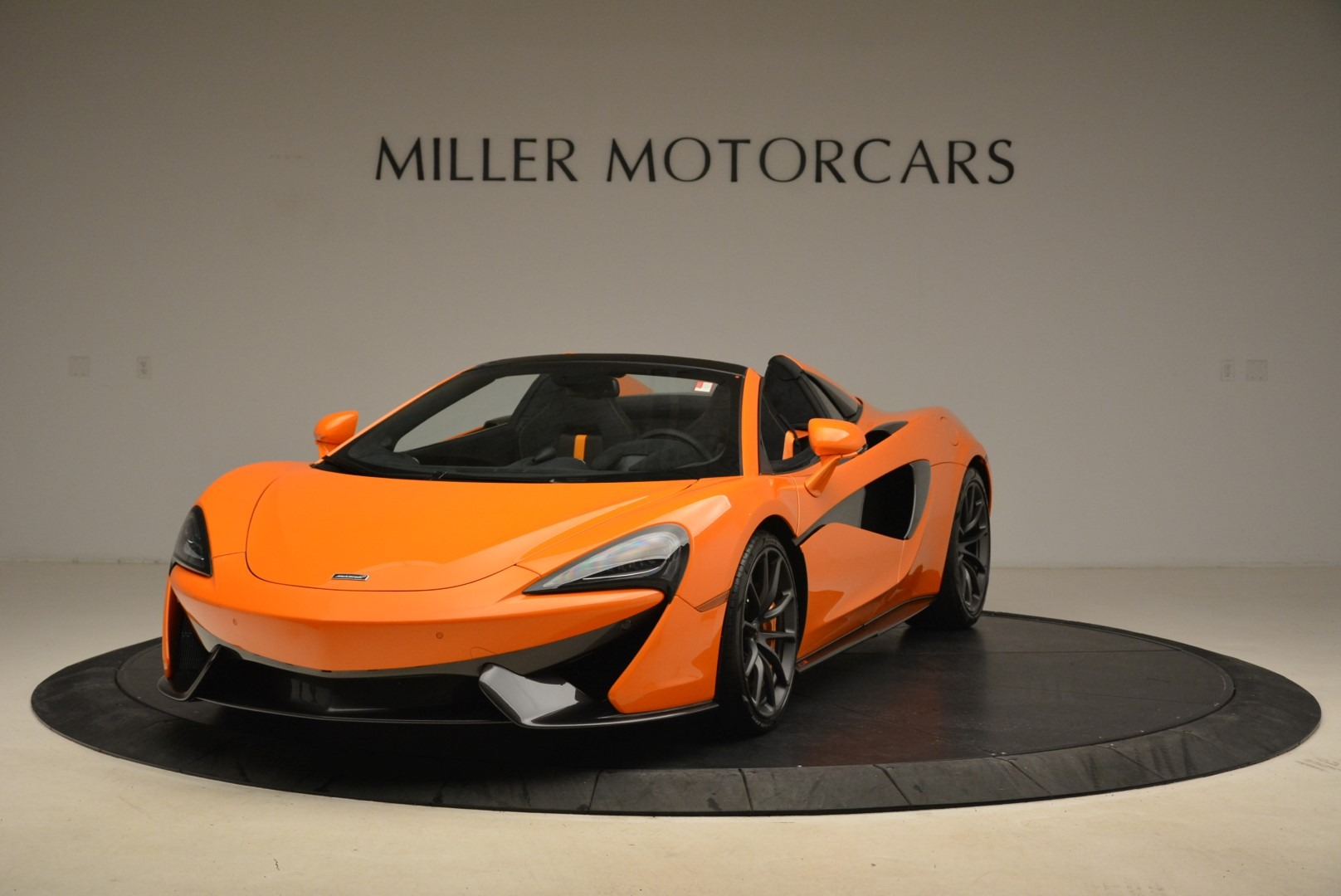 Used 2018 McLaren 570S Spider Convertible For Sale In Westport, CT 2188_main