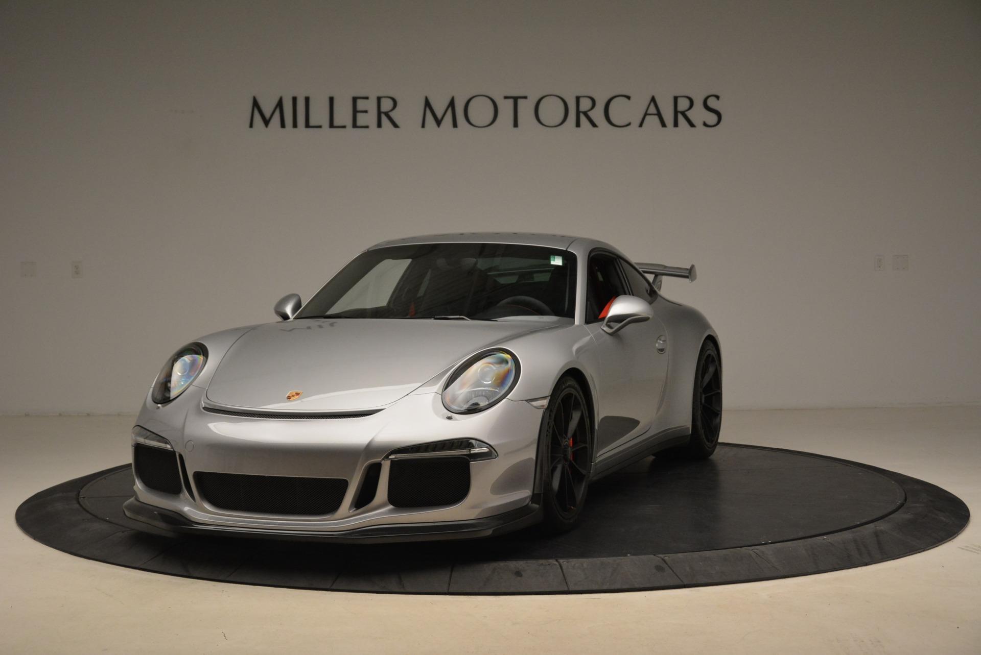 Used 2015 Porsche 911 GT3 For Sale In Westport, CT 2196_main