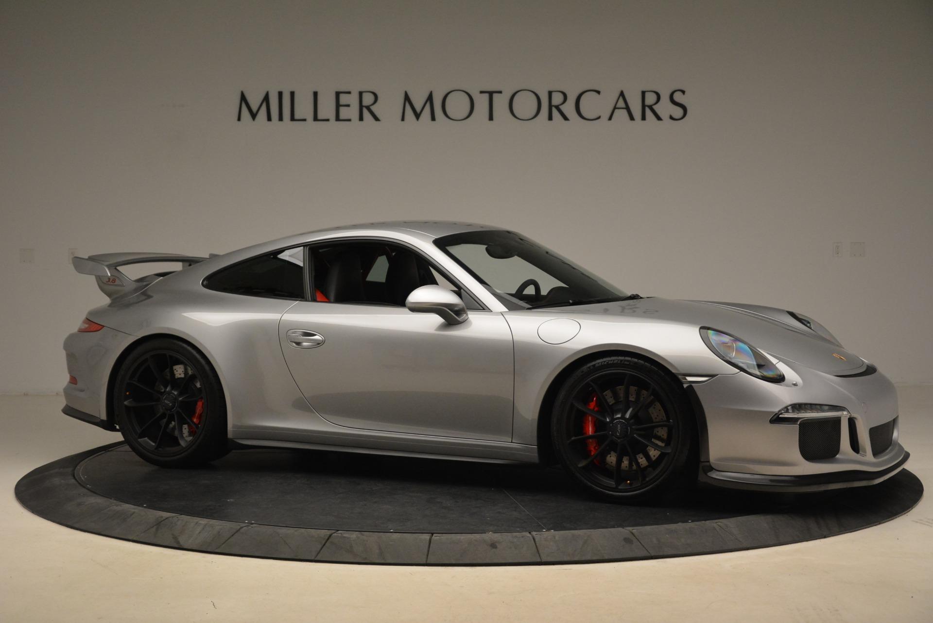 Used 2015 Porsche 911 GT3 For Sale In Westport, CT 2196_p10