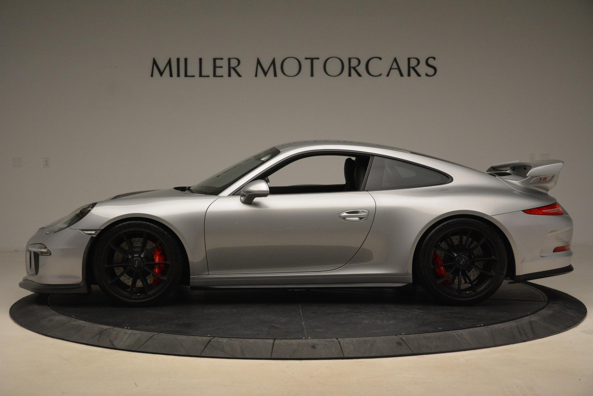 Used 2015 Porsche 911 GT3 For Sale In Westport, CT 2196_p3