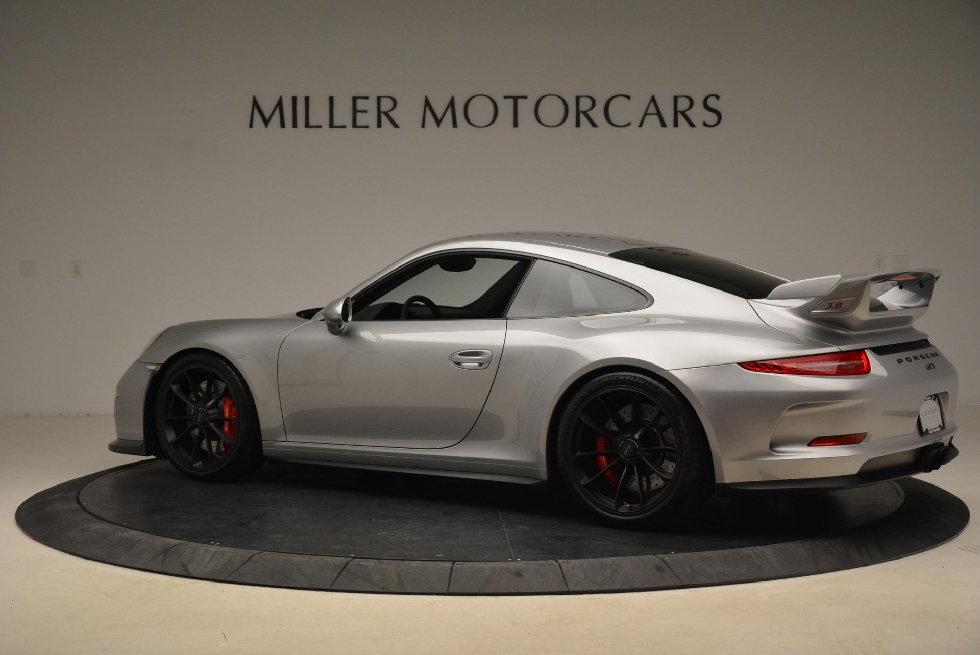 Used 2015 Porsche 911 GT3 For Sale In Westport, CT 2196_p4