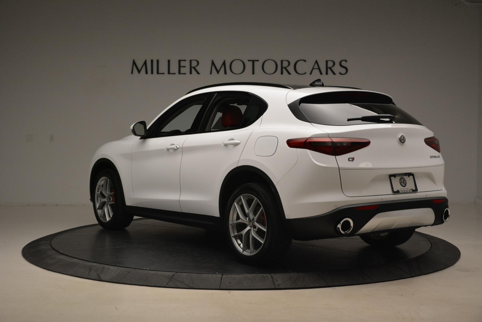 New 2018 Alfa Romeo Stelvio Ti Sport Q4 For Sale In Westport, CT 2197_p5