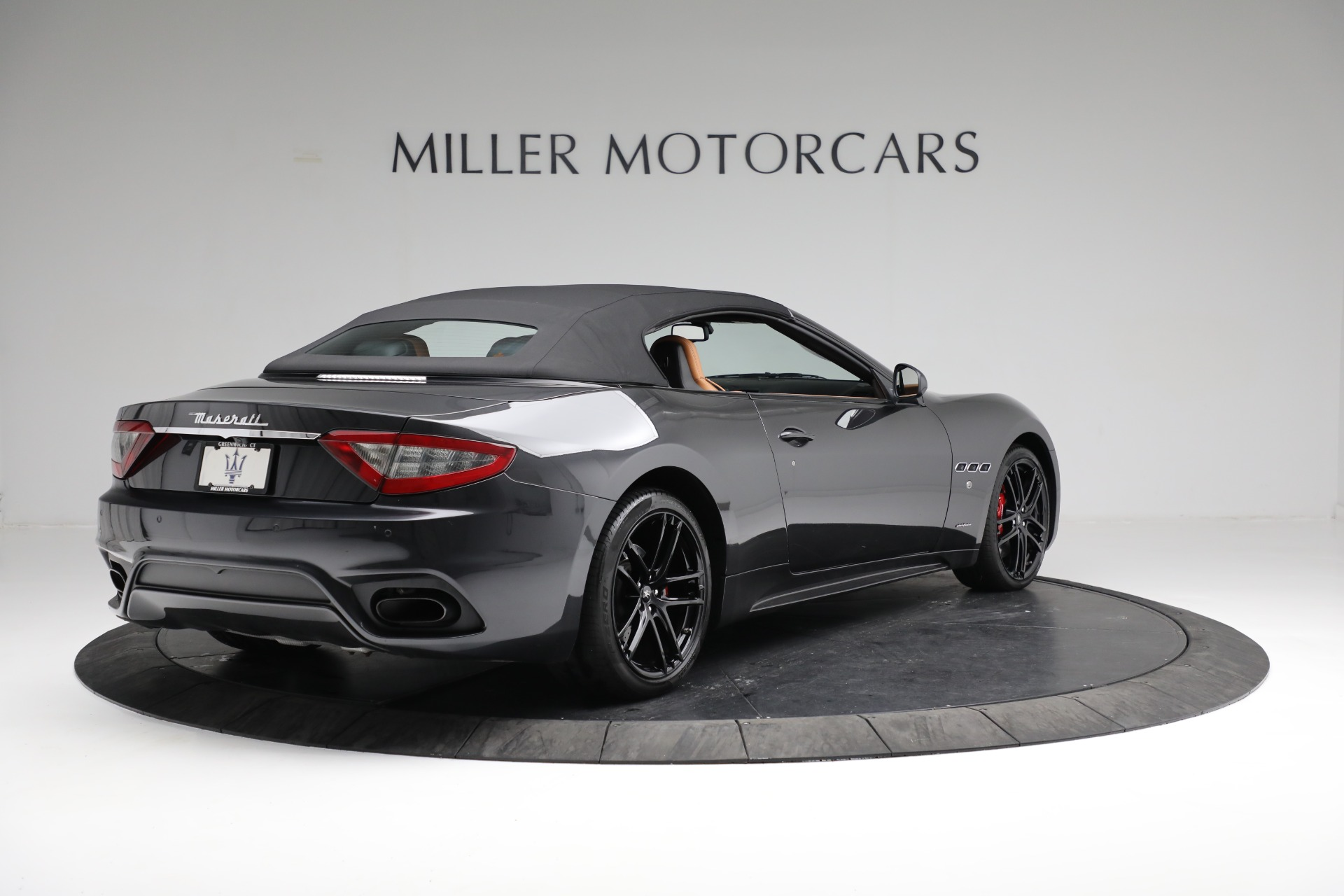 New 2018 Maserati GranTurismo Sport Convertible For Sale In Westport, CT 2198_p14