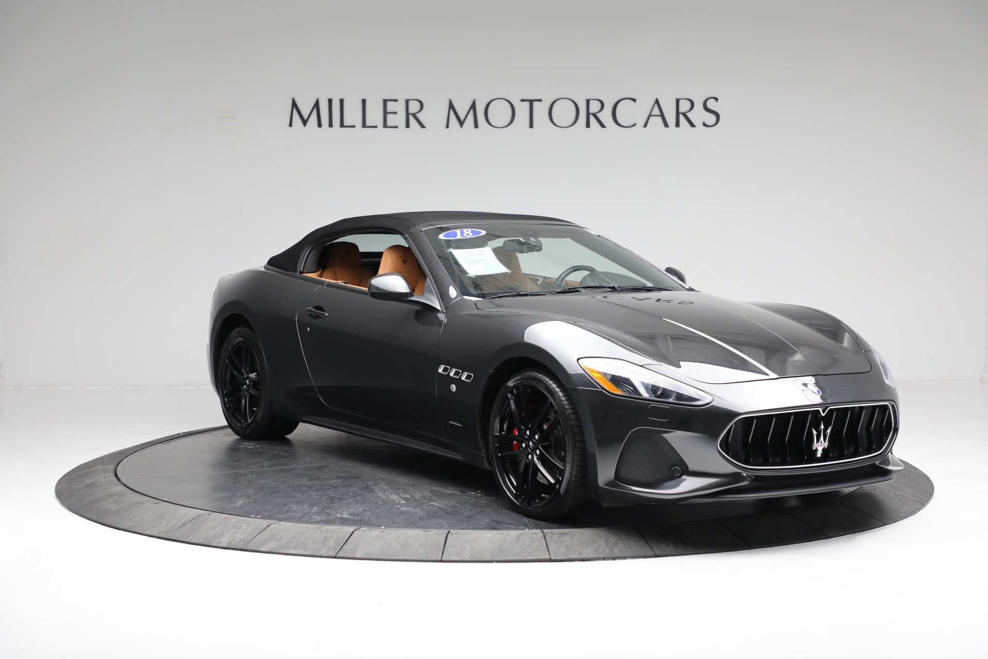 New 2018 Maserati GranTurismo Sport Convertible For Sale In Westport, CT 2198_p22