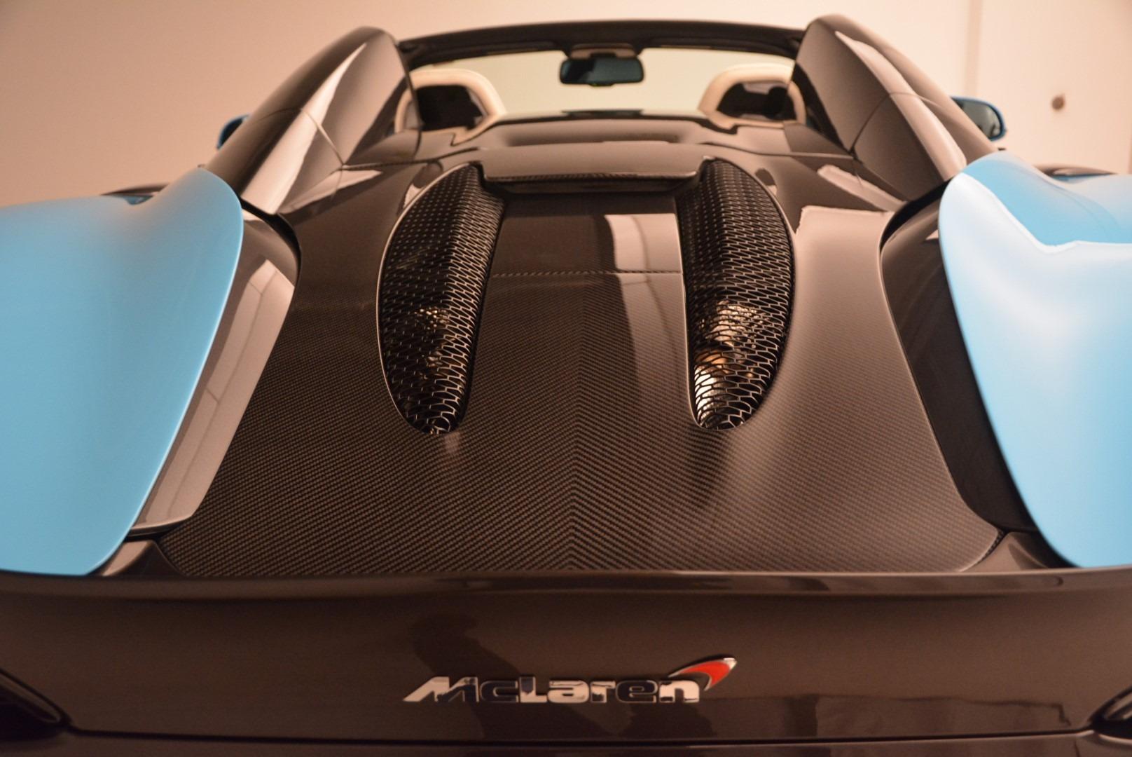 Used 2018 McLaren 570S Spider For Sale In Westport, CT 2215_p23