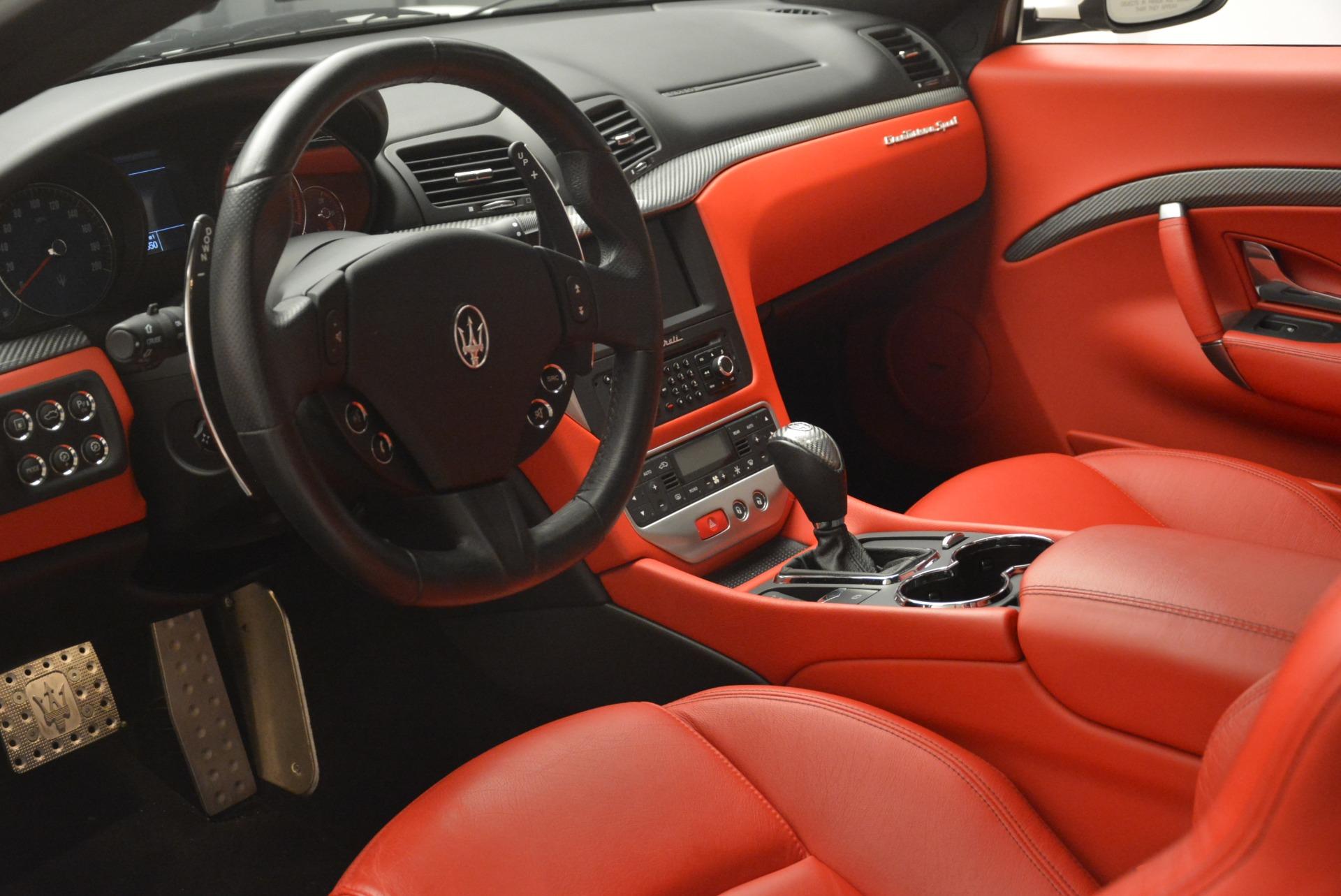 Used 2015 Maserati GranTurismo Sport For Sale In Westport, CT 2233_p13
