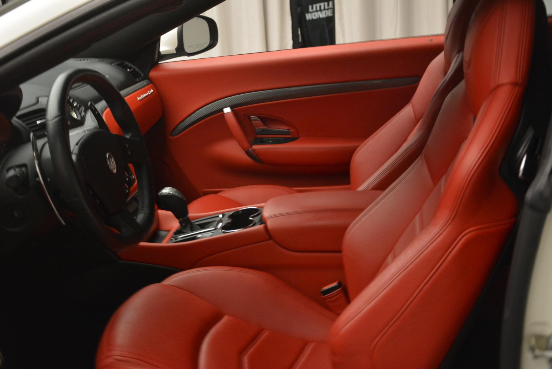Used 2015 Maserati GranTurismo Sport For Sale In Westport, CT 2233_p14