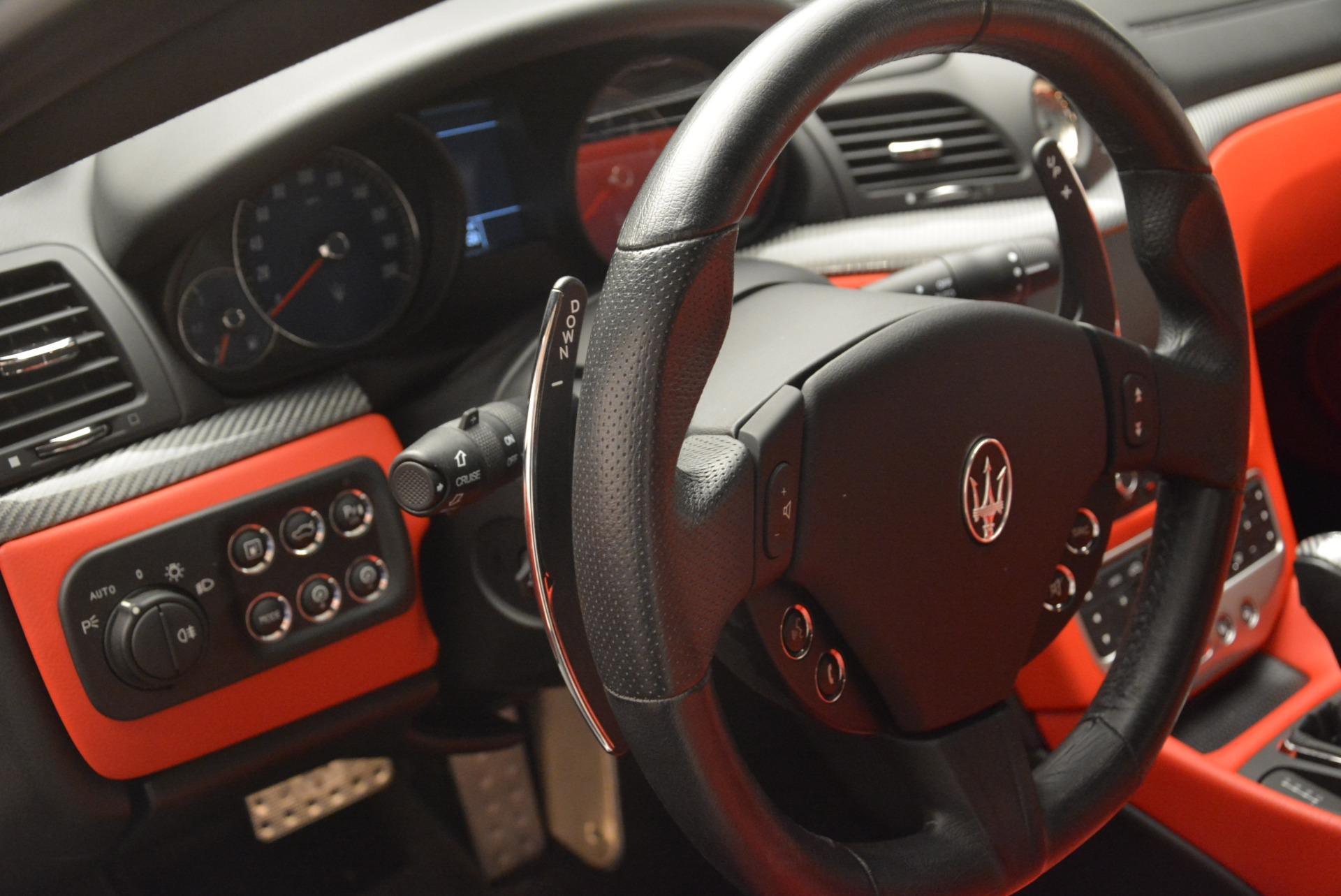 Used 2015 Maserati GranTurismo Sport For Sale In Westport, CT 2233_p16