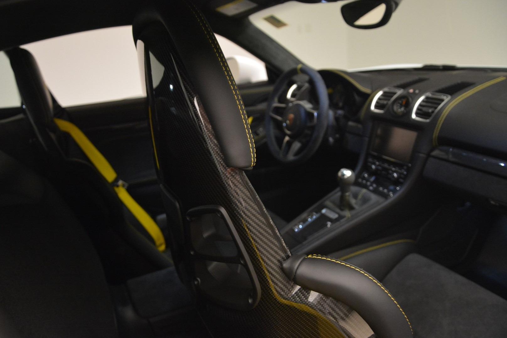 Used 2016 Porsche Cayman GT4 For Sale In Westport, CT 2234_p22