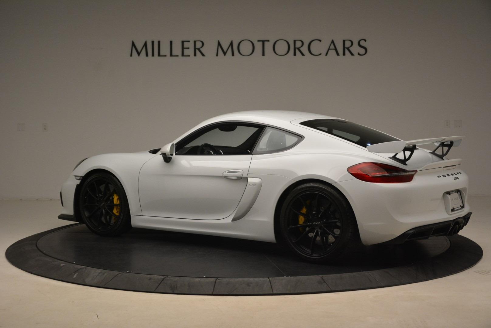 Used 2016 Porsche Cayman GT4 For Sale In Westport, CT 2234_p4