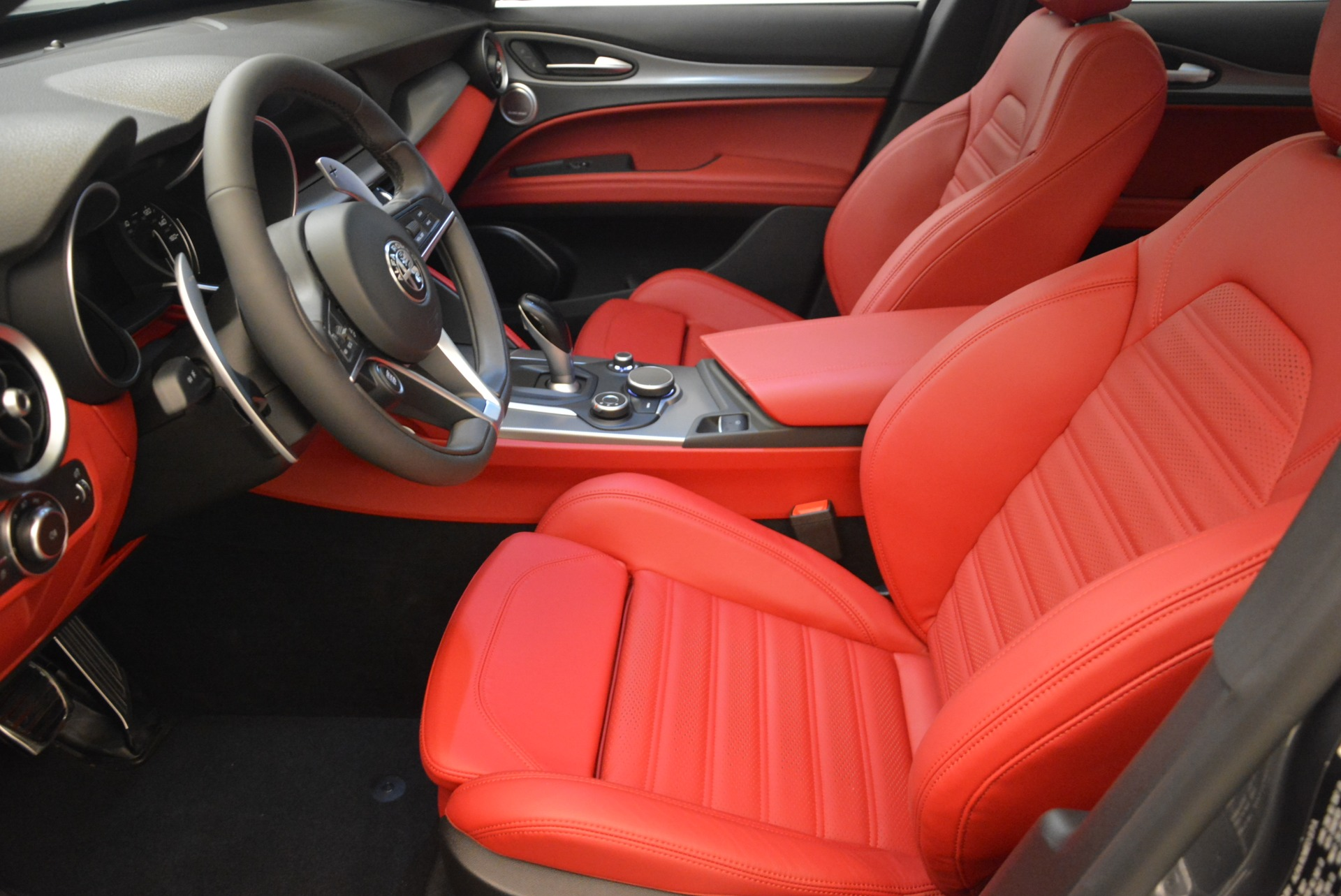 New 2018 Alfa Romeo Stelvio Ti Sport Q4 For Sale In Westport, CT 2247_p14