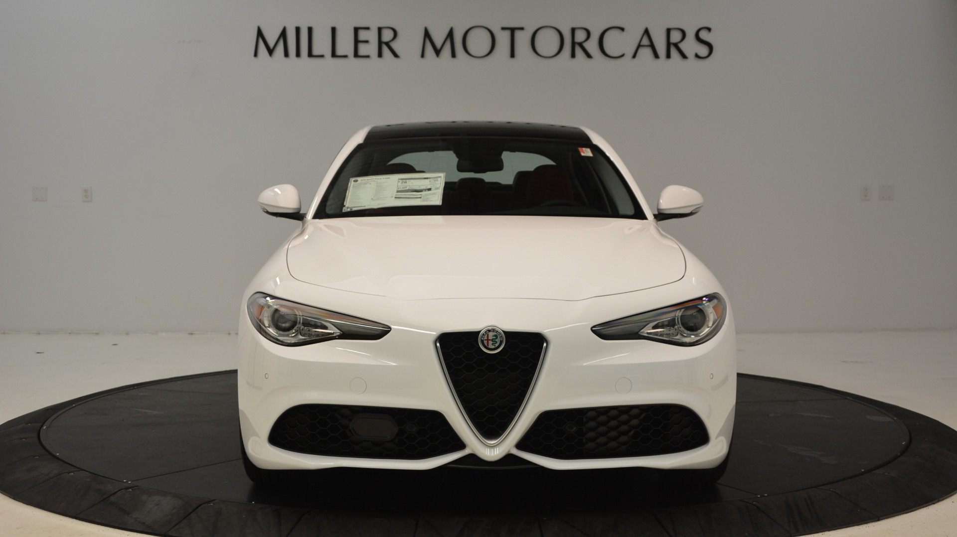 New 2018 Alfa Romeo Giulia Ti Sport Q4 For Sale In Westport, CT 2249_p12