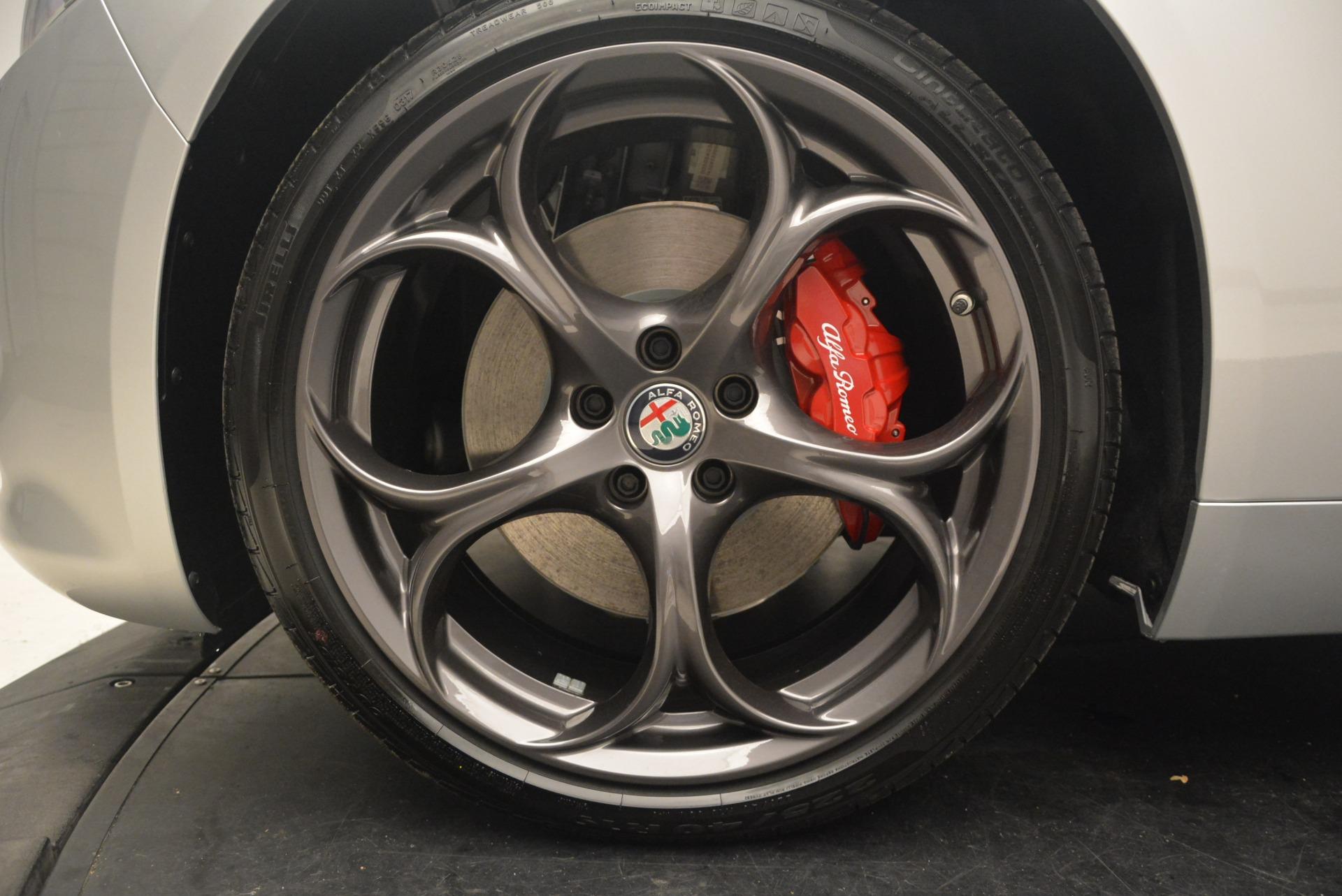 New 2018 Alfa Romeo Giulia Ti Sport Q4 For Sale In Westport, CT 2250_p26