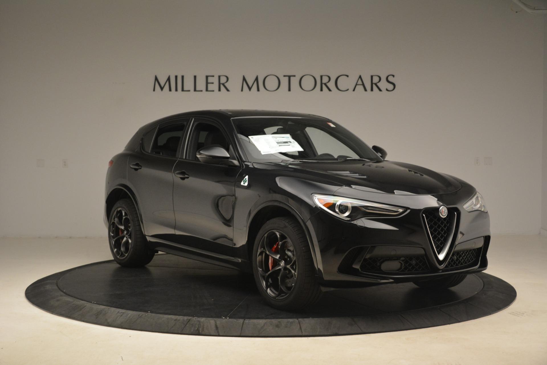 New 2018 Alfa Romeo Stelvio Quadrifoglio For Sale In Westport, CT 2253_p11