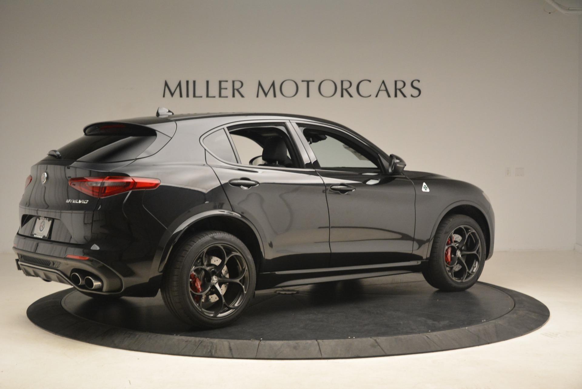 New 2018 Alfa Romeo Stelvio Quadrifoglio For Sale In Westport, CT 2253_p8