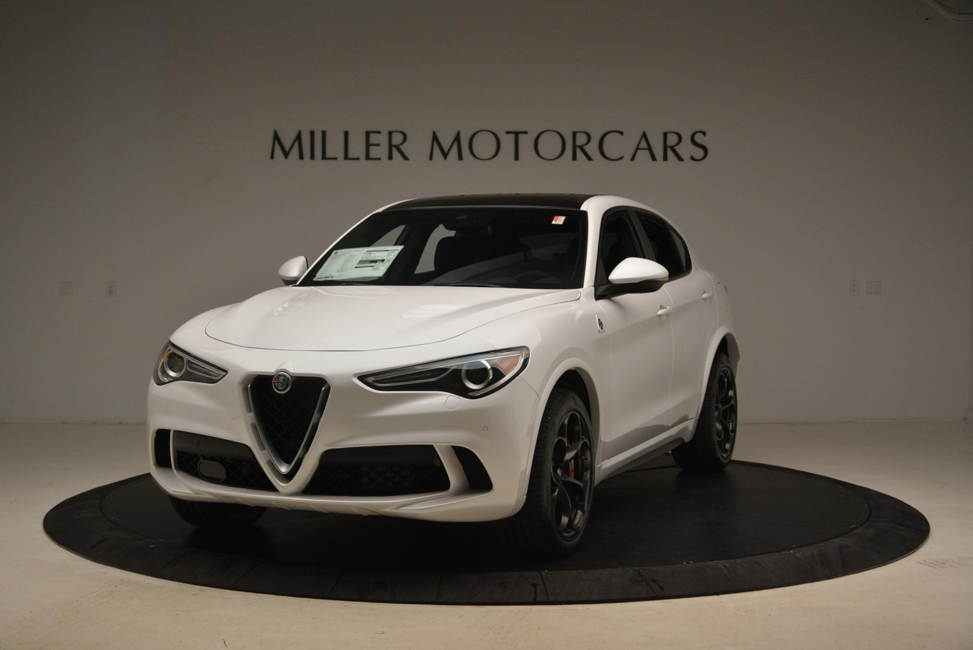New 2018 Alfa Romeo Stelvio Quadrifoglio For Sale In Westport, CT 2254_main