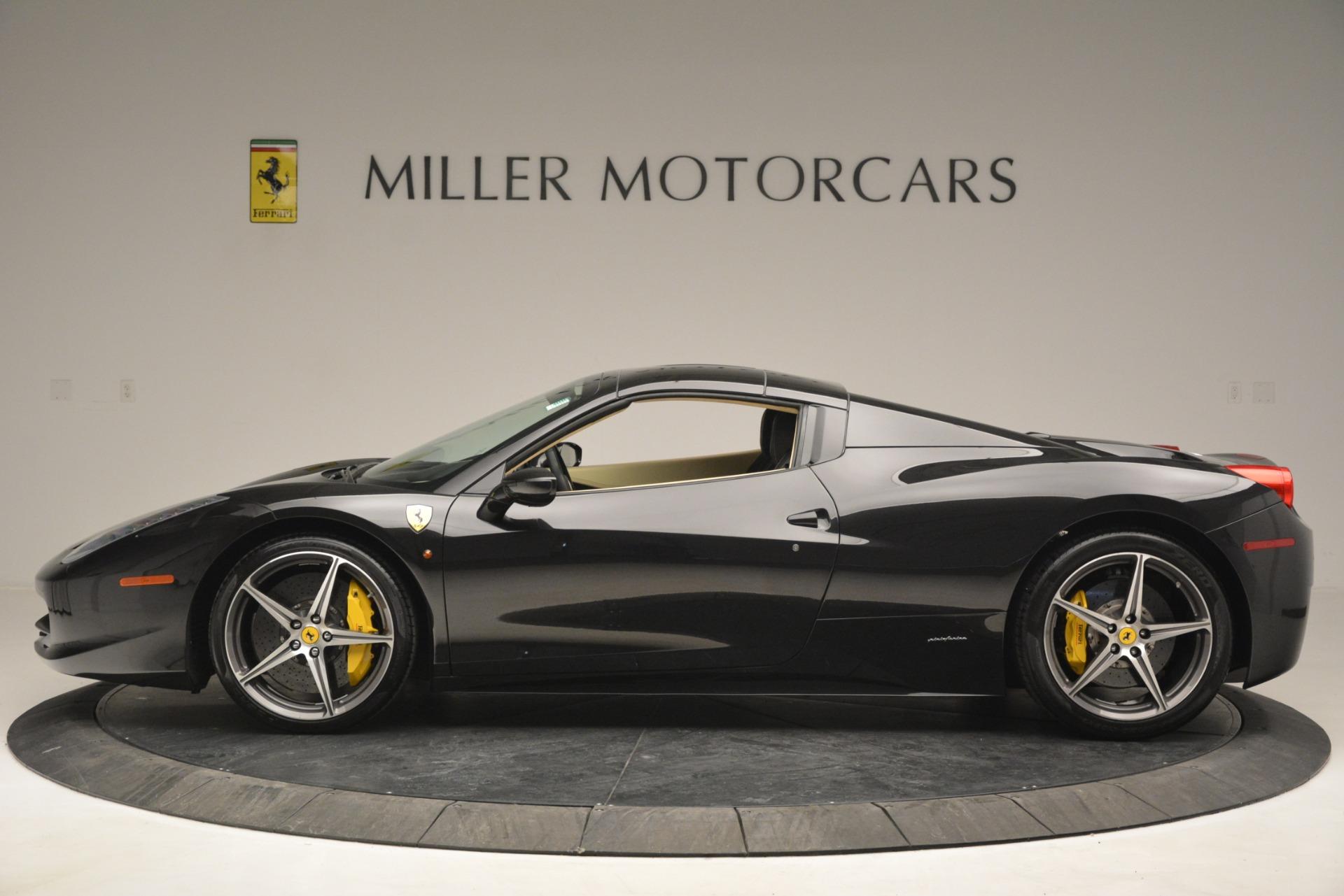 Used 2014 Ferrari 458 Spider  For Sale In Westport, CT 2258_p15