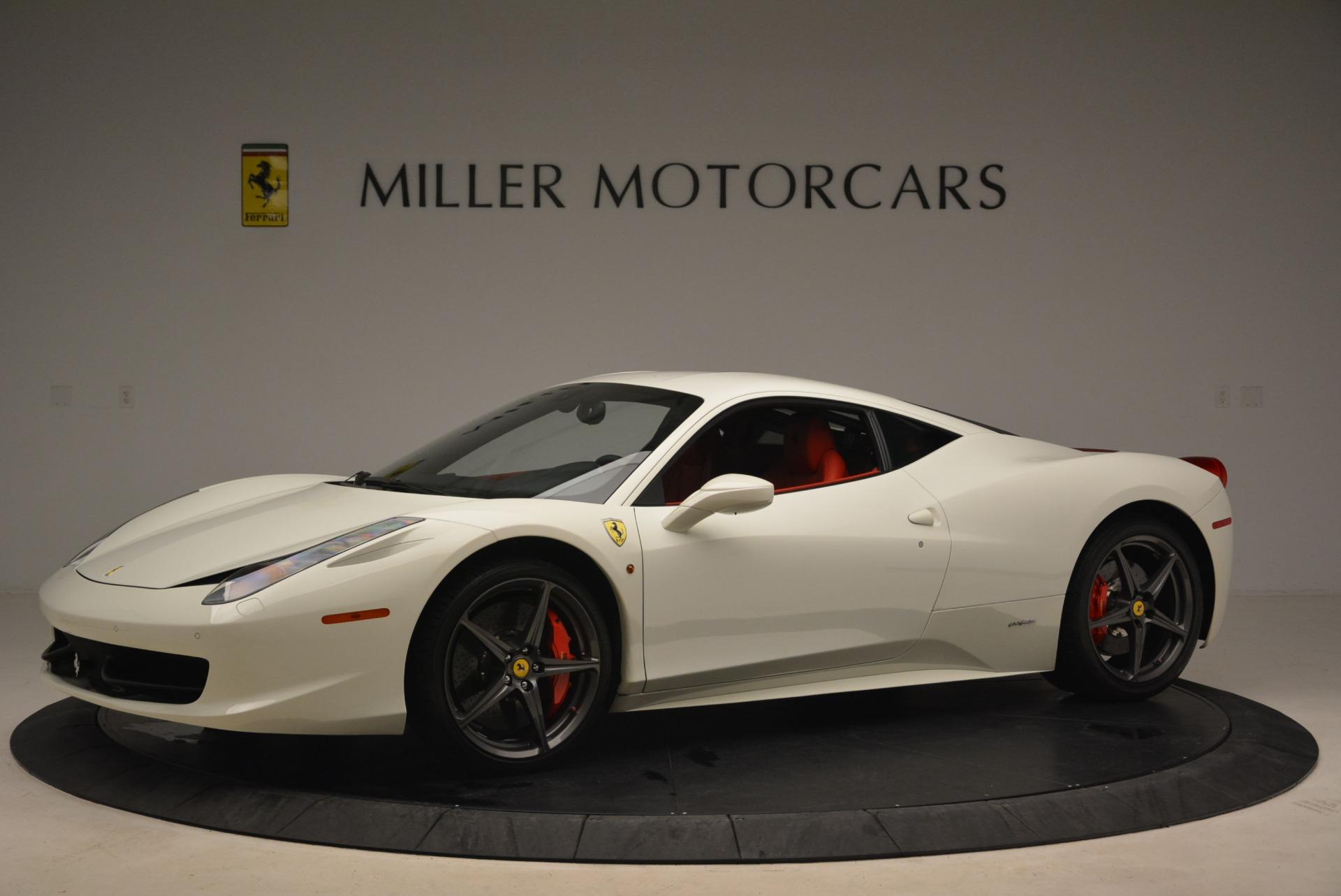 Used 2014 Ferrari 458 Italia  For Sale In Westport, CT 2260_p2