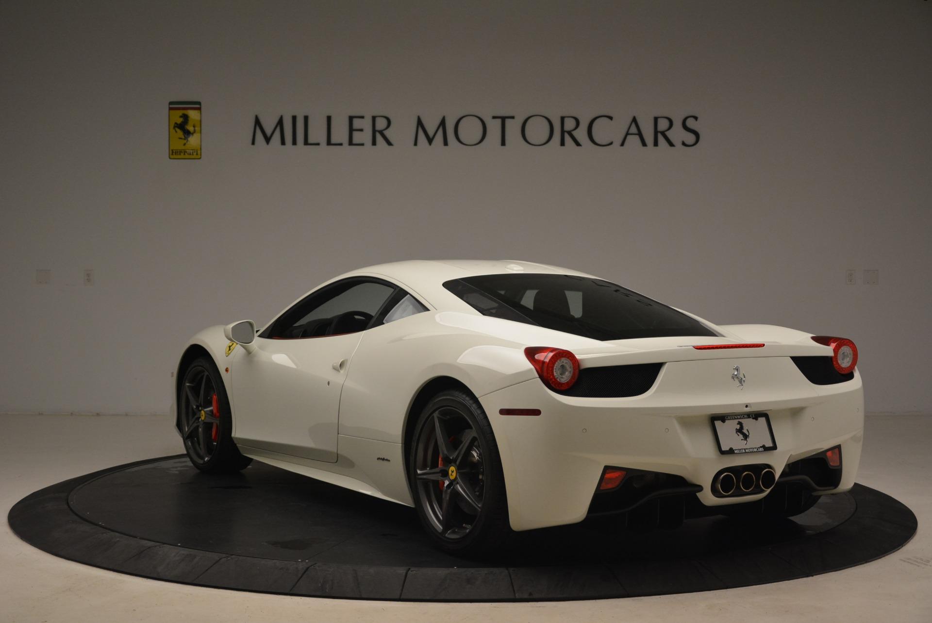 Used 2014 Ferrari 458 Italia  For Sale In Westport, CT 2260_p5