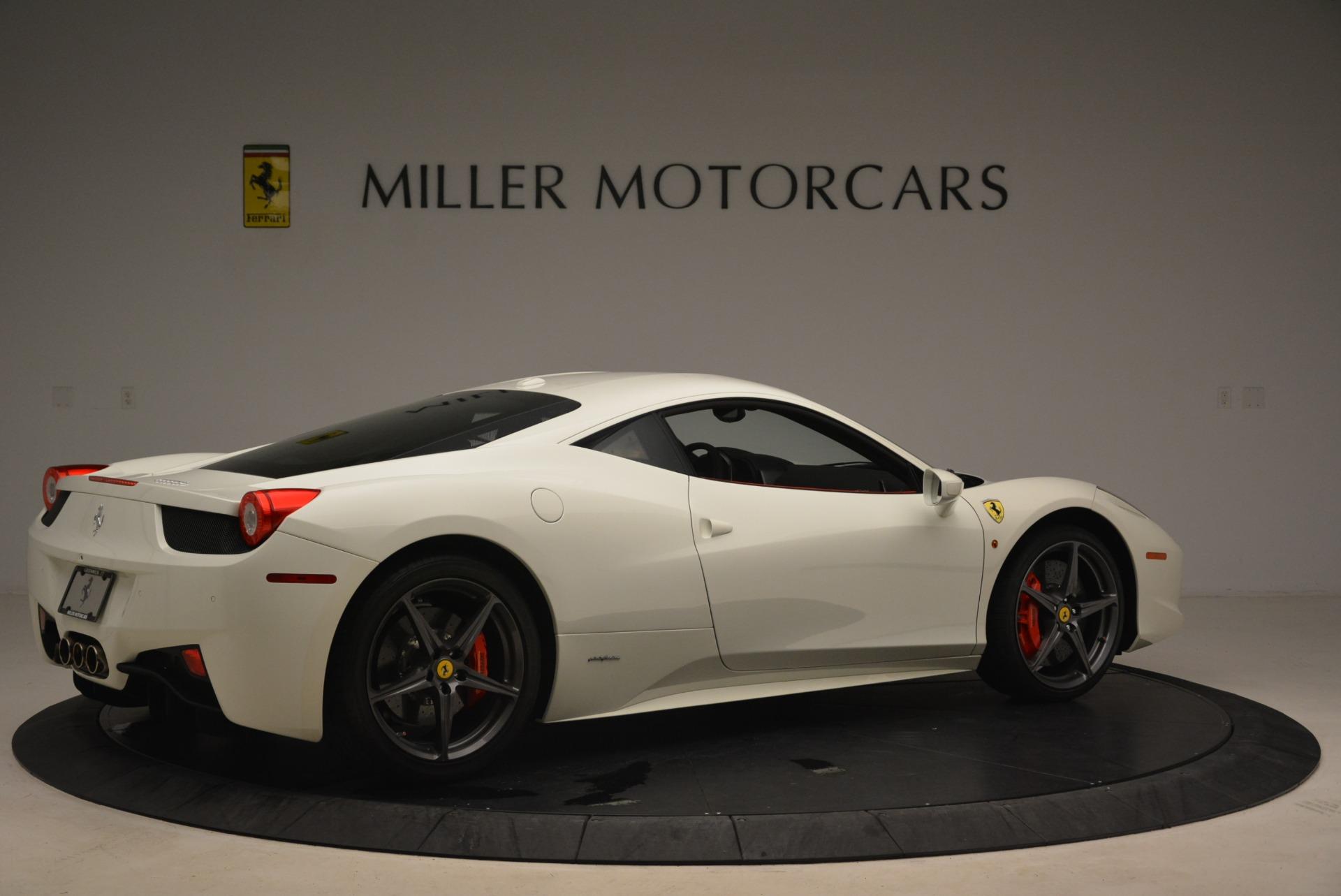 Used 2014 Ferrari 458 Italia  For Sale In Westport, CT 2260_p8