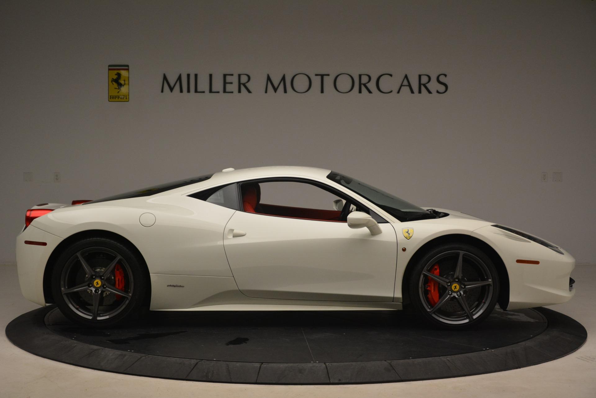 Used 2014 Ferrari 458 Italia  For Sale In Westport, CT 2260_p9