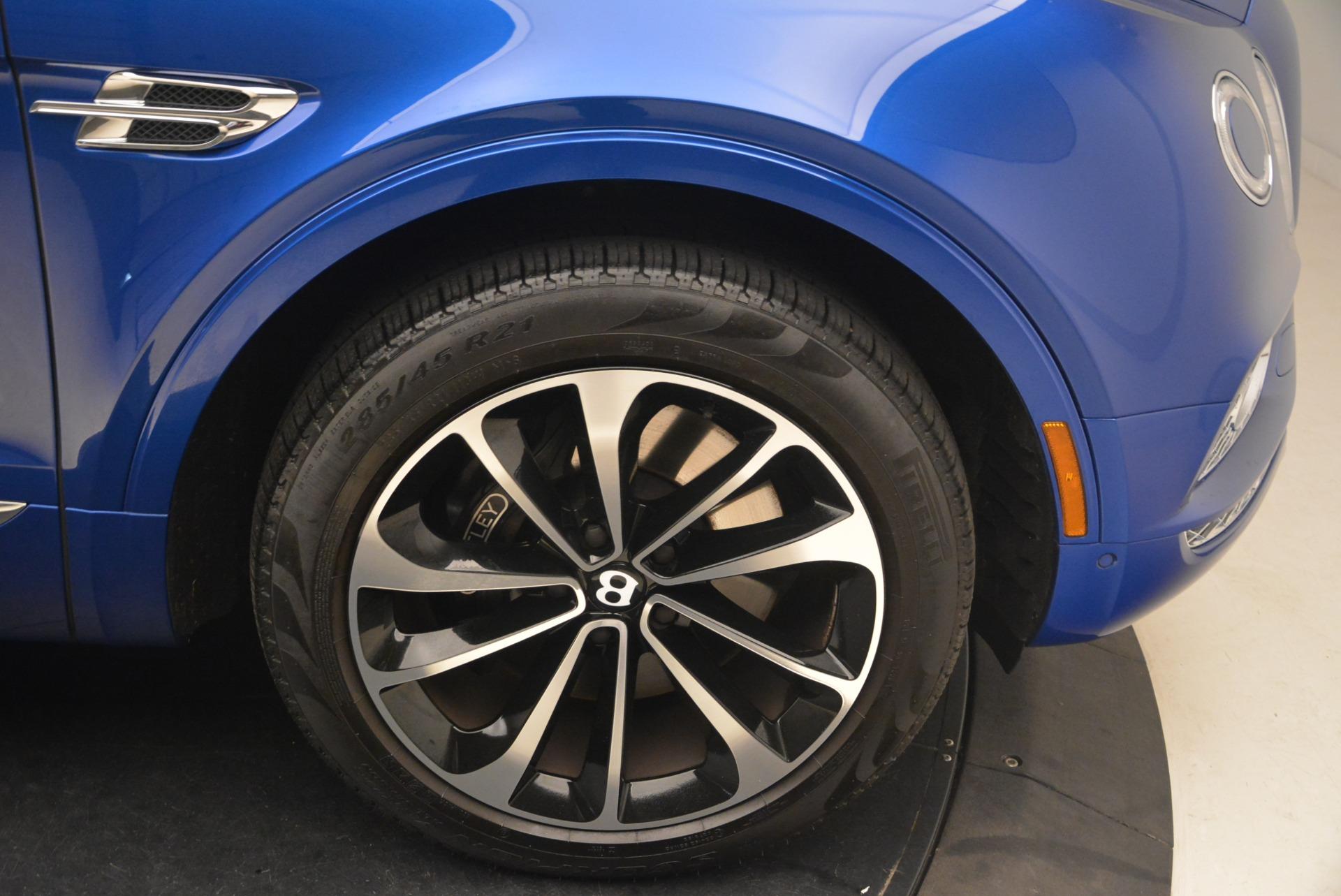 Used 2018 Bentley Bentayga W12 Signature For Sale In Westport, CT 2265_p14