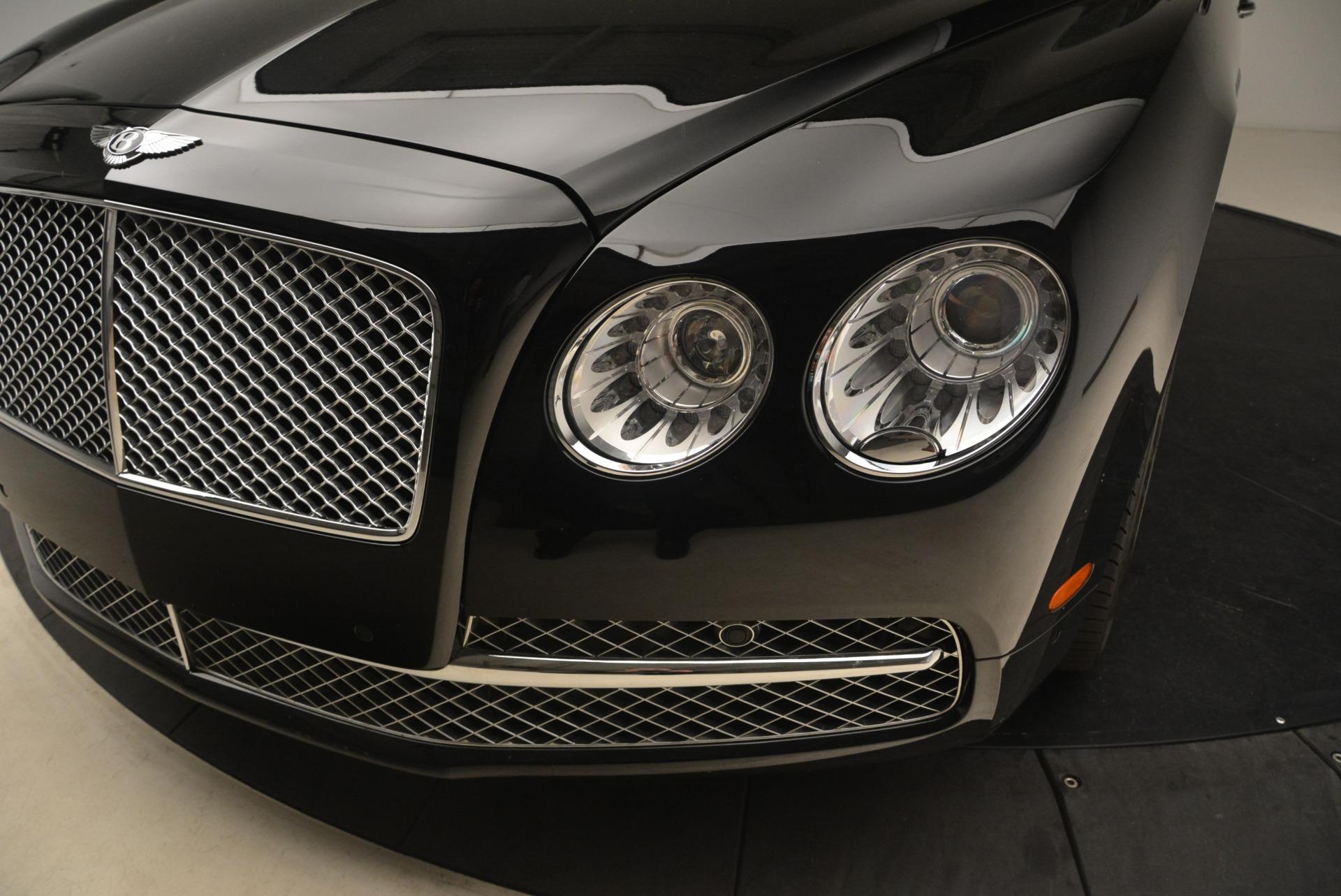Used 2014 Bentley Flying Spur W12 For Sale In Westport, CT 2267_p13
