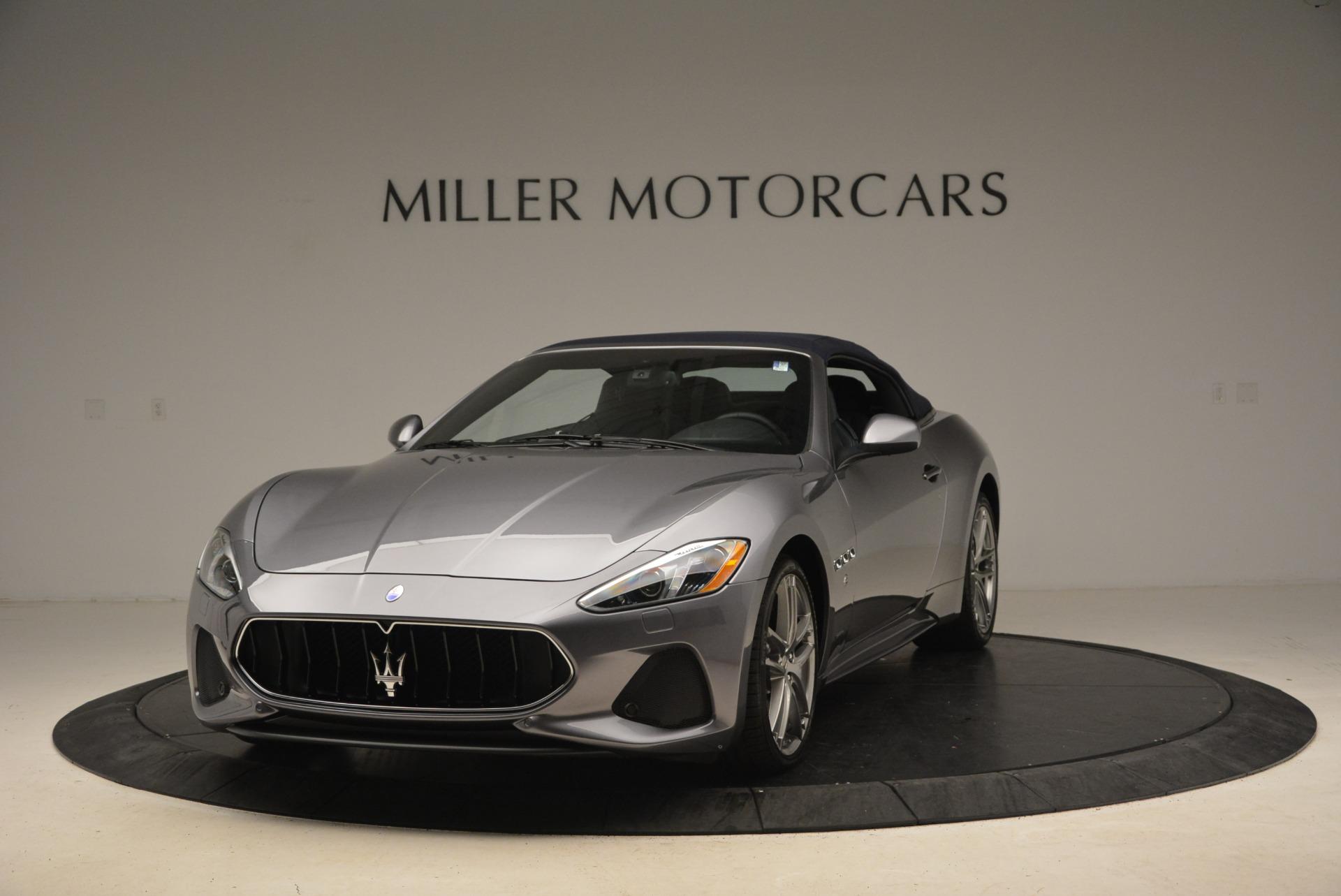 New 2018 Maserati GranTurismo Sport Convertible For Sale In Westport, CT 2272_main