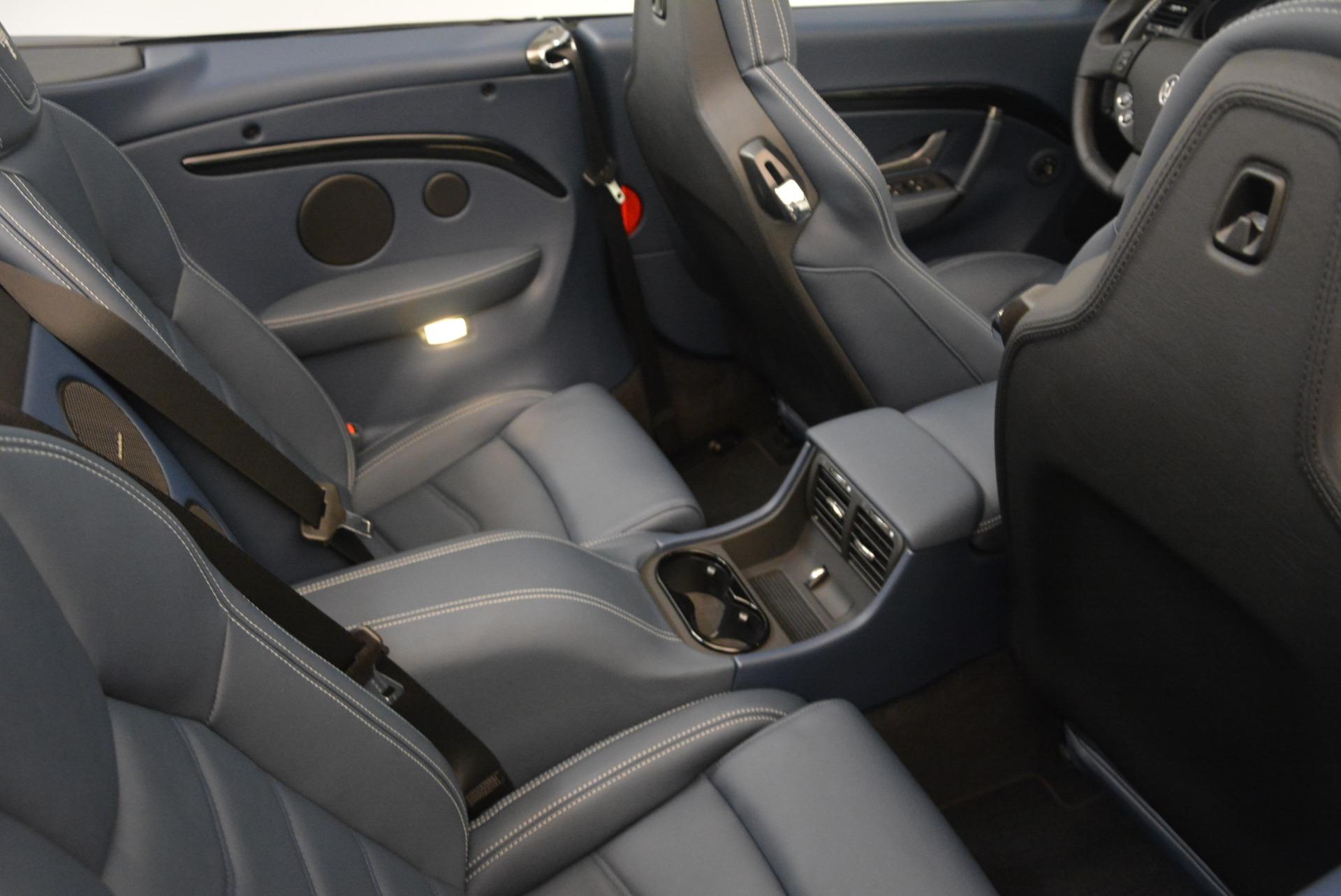New 2018 Maserati GranTurismo Sport Convertible For Sale In Westport, CT 2272_p25