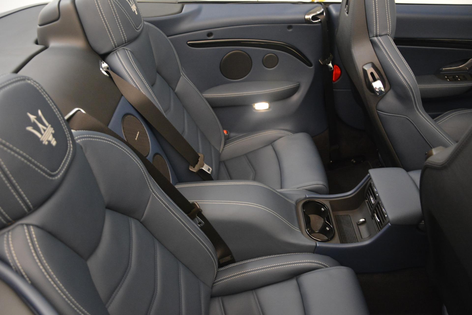 New 2018 Maserati GranTurismo Sport Convertible For Sale In Westport, CT 2272_p27