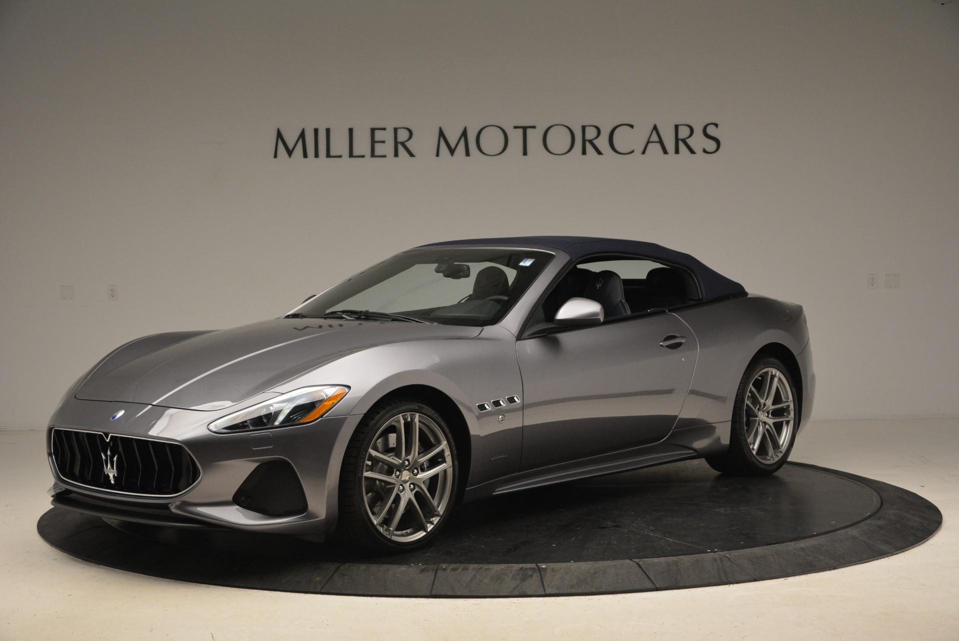 New 2018 Maserati GranTurismo Sport Convertible For Sale In Westport, CT 2272_p2