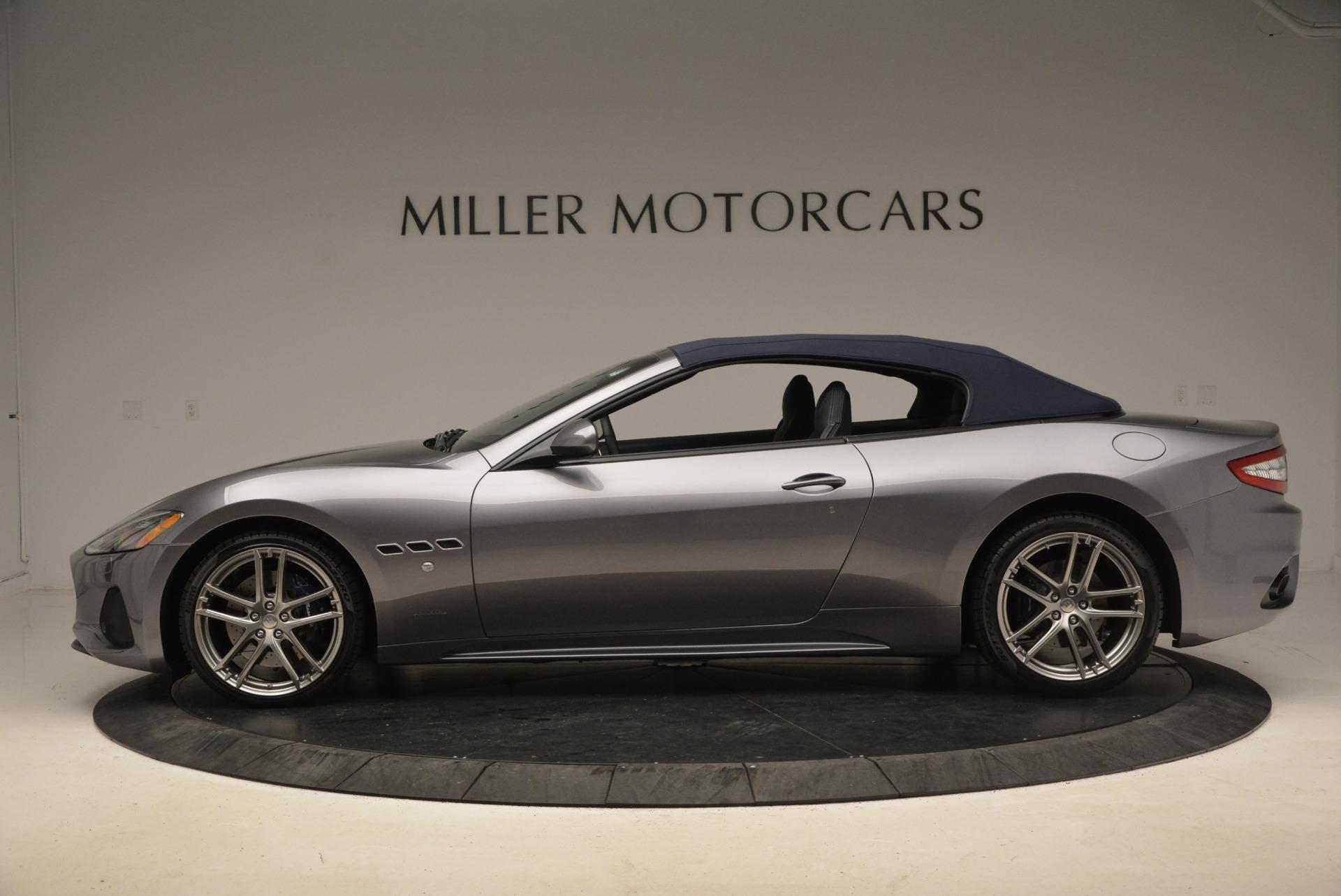 New 2018 Maserati GranTurismo Sport Convertible For Sale In Westport, CT 2272_p4
