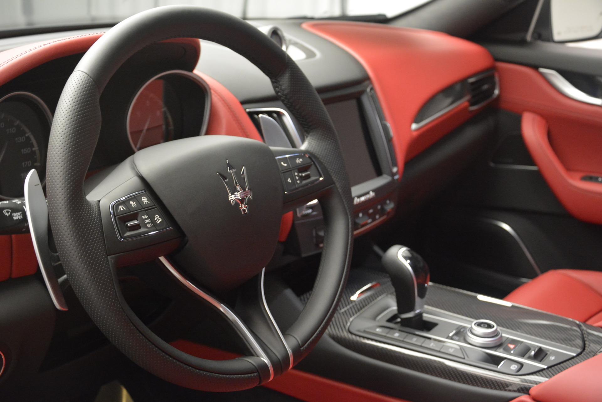 New 2018 Maserati Levante S Q4 GranSport For Sale In Westport, CT 2274_p15