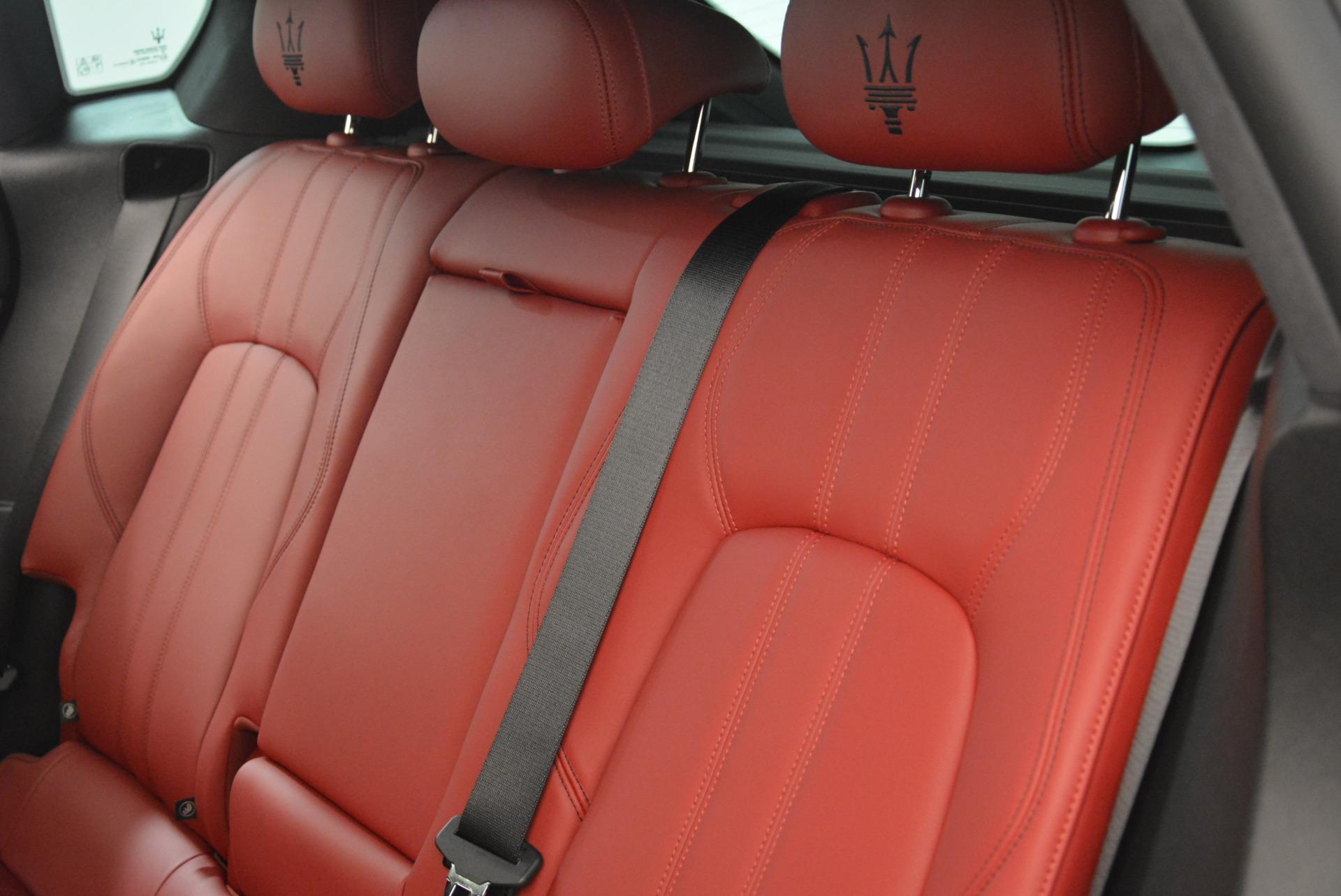 New 2018 Maserati Levante S Q4 GranSport For Sale In Westport, CT 2274_p19