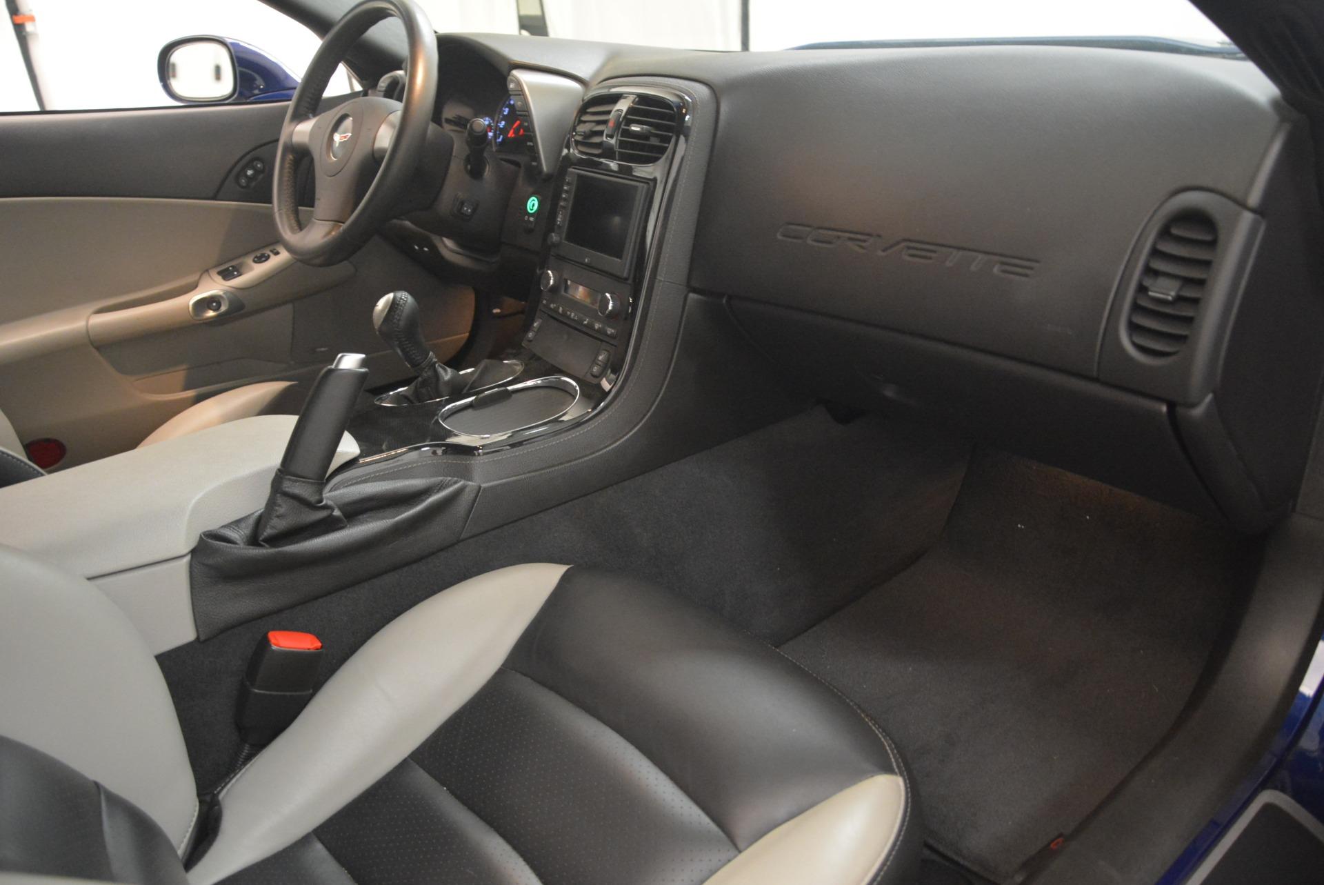 Used 2006 Chevrolet Corvette Z06 For Sale In Westport, CT 2277_p17