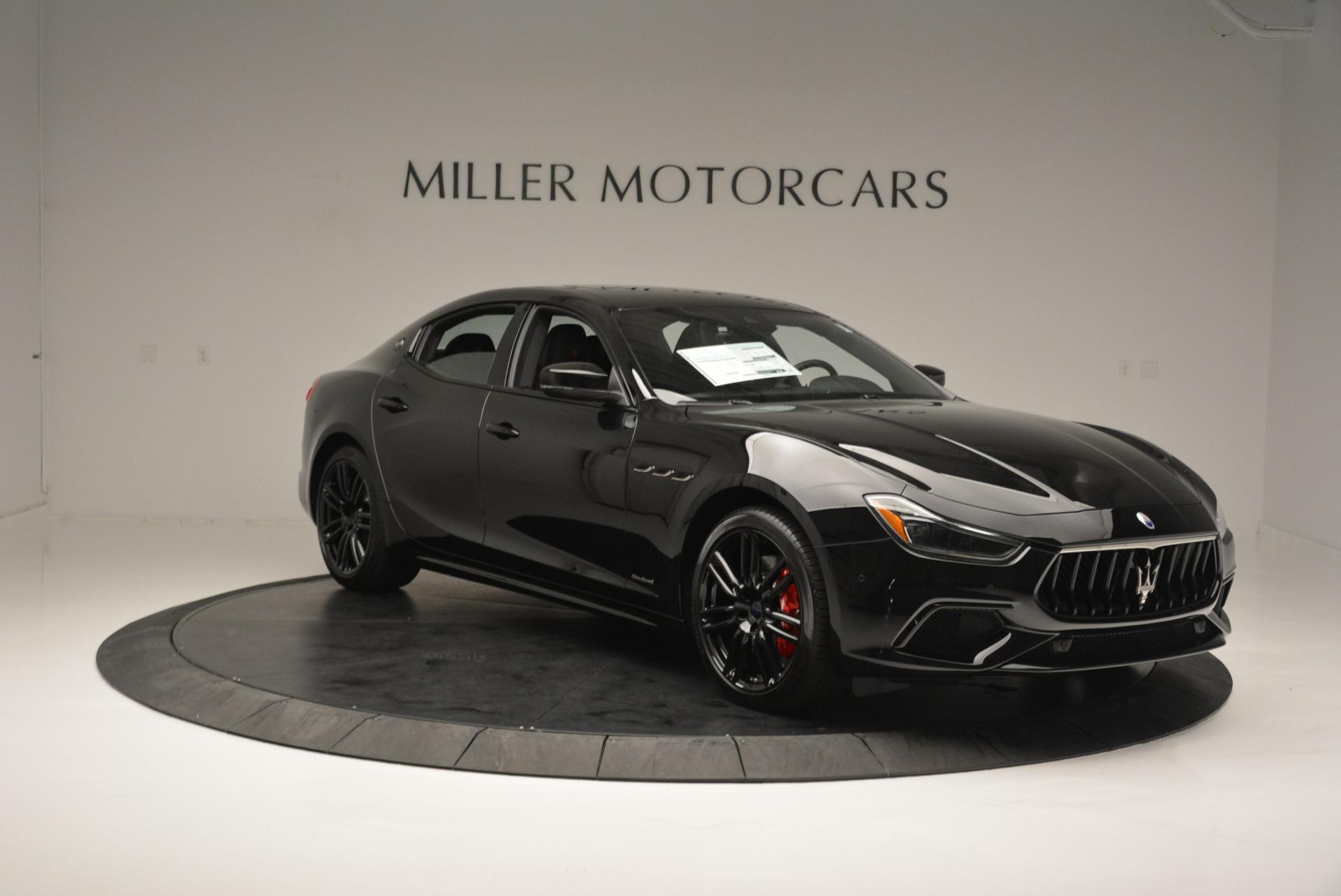 New 2018 Maserati Ghibli SQ4 GranSport Nerissimo For Sale In Westport, CT 2278_p11