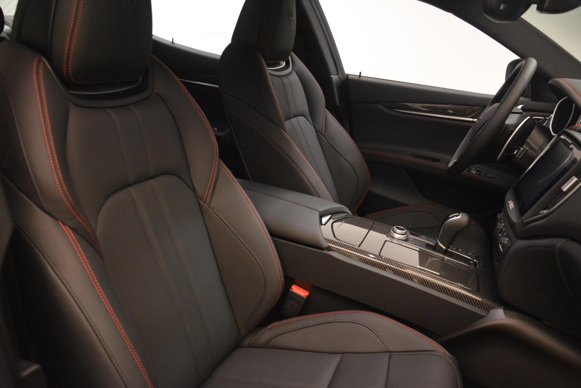New 2018 Maserati Ghibli SQ4 GranSport Nerissimo For Sale In Westport, CT 2278_p18