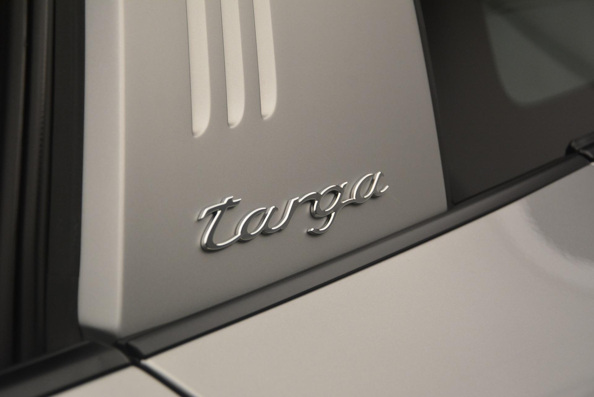 Used 2017 Porsche 911 Targa 4S For Sale In Westport, CT 2282_p27