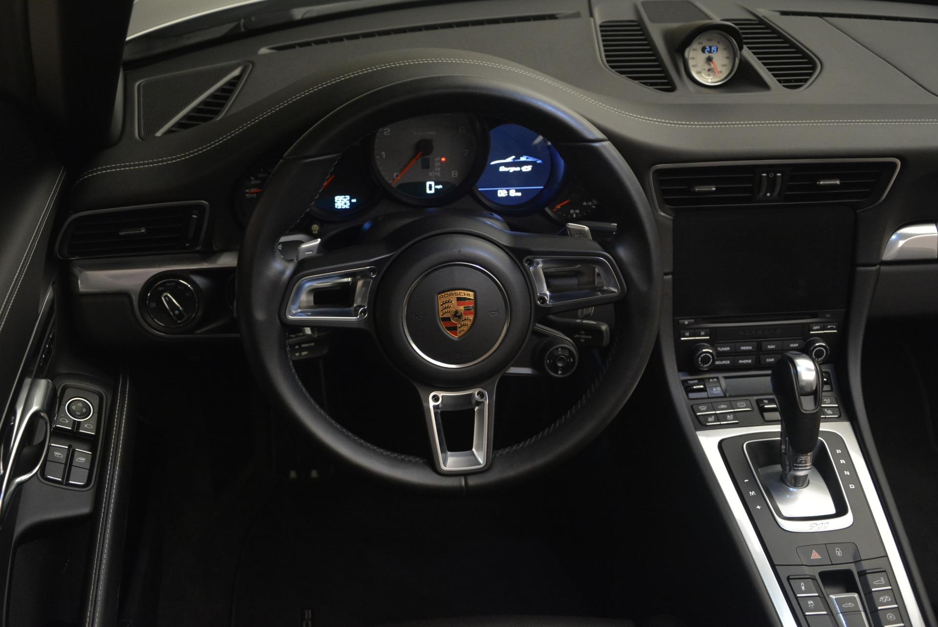 Used 2017 Porsche 911 Targa 4S For Sale In Westport, CT 2282_p30