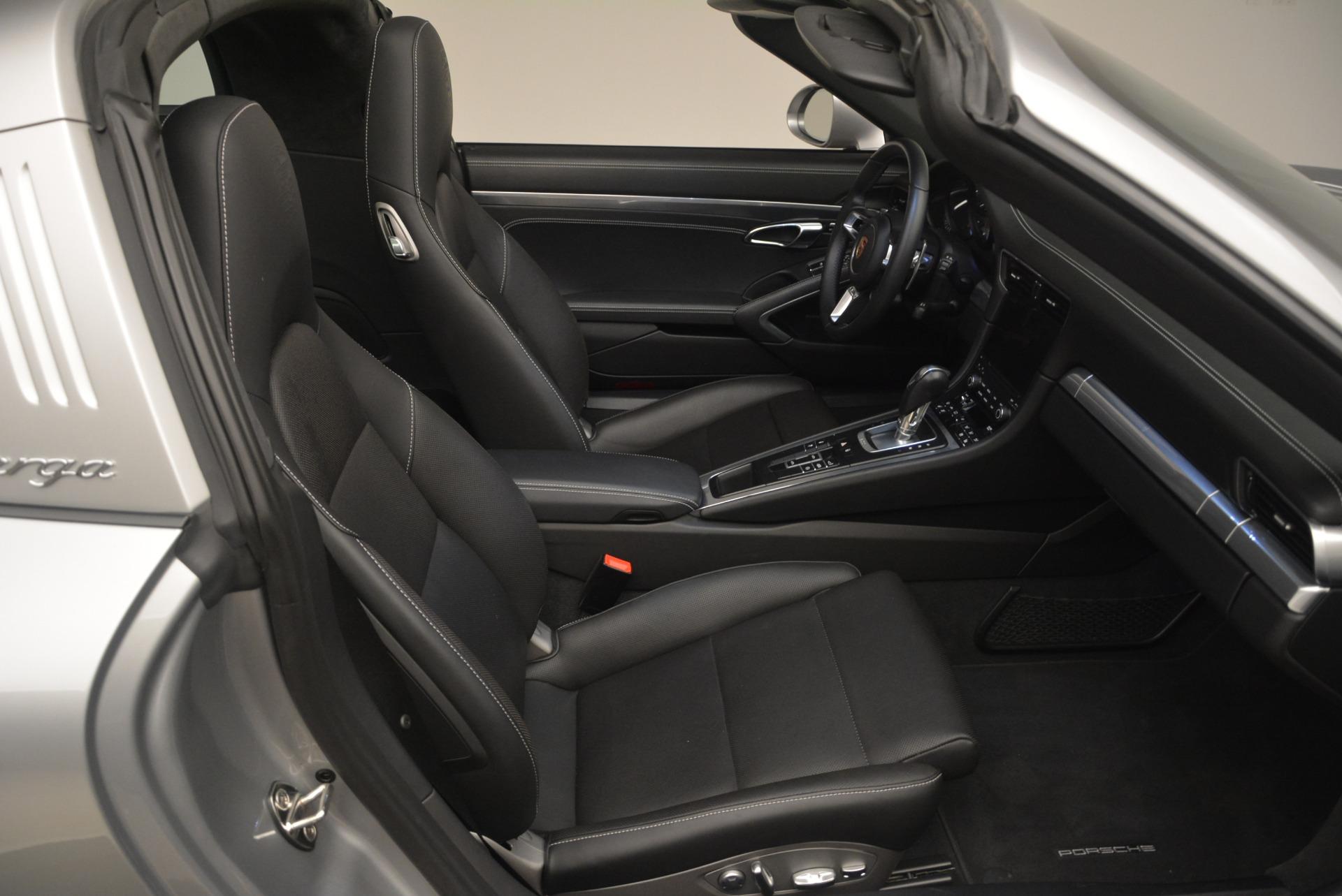 Used 2017 Porsche 911 Targa 4S For Sale In Westport, CT 2282_p35