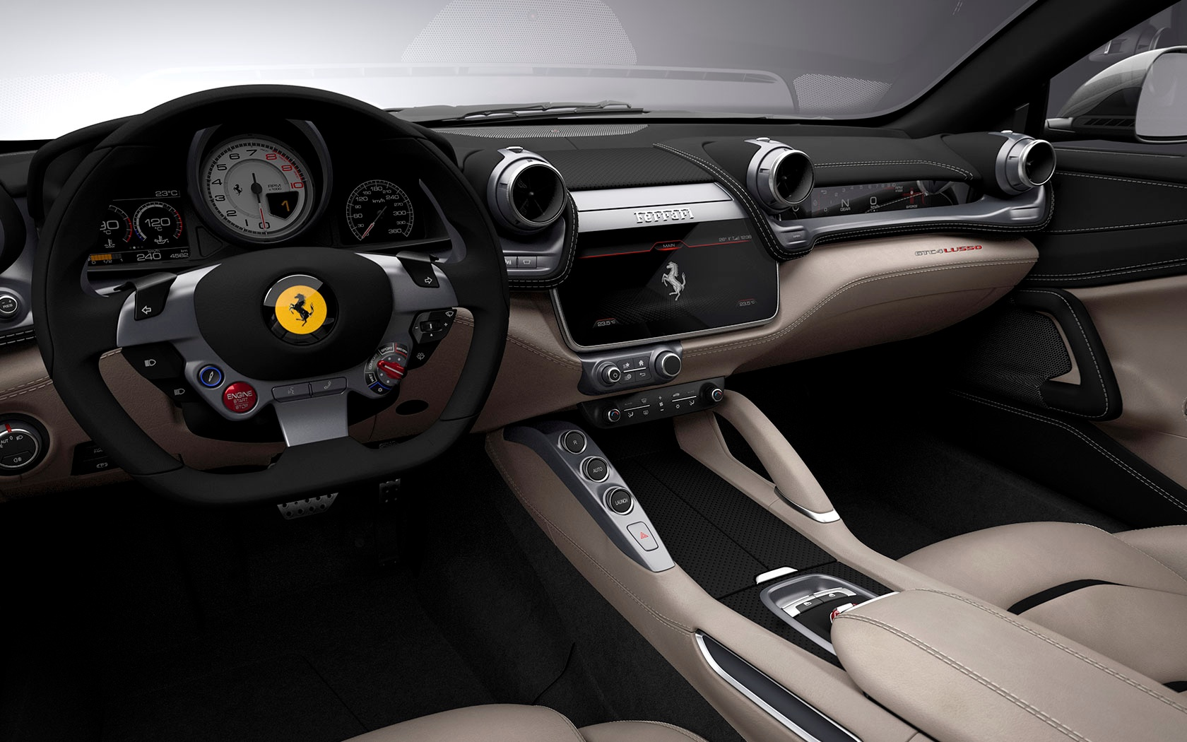 New 2020 Ferrari GTC4LUSSO  For Sale In Westport, CT 229_p9