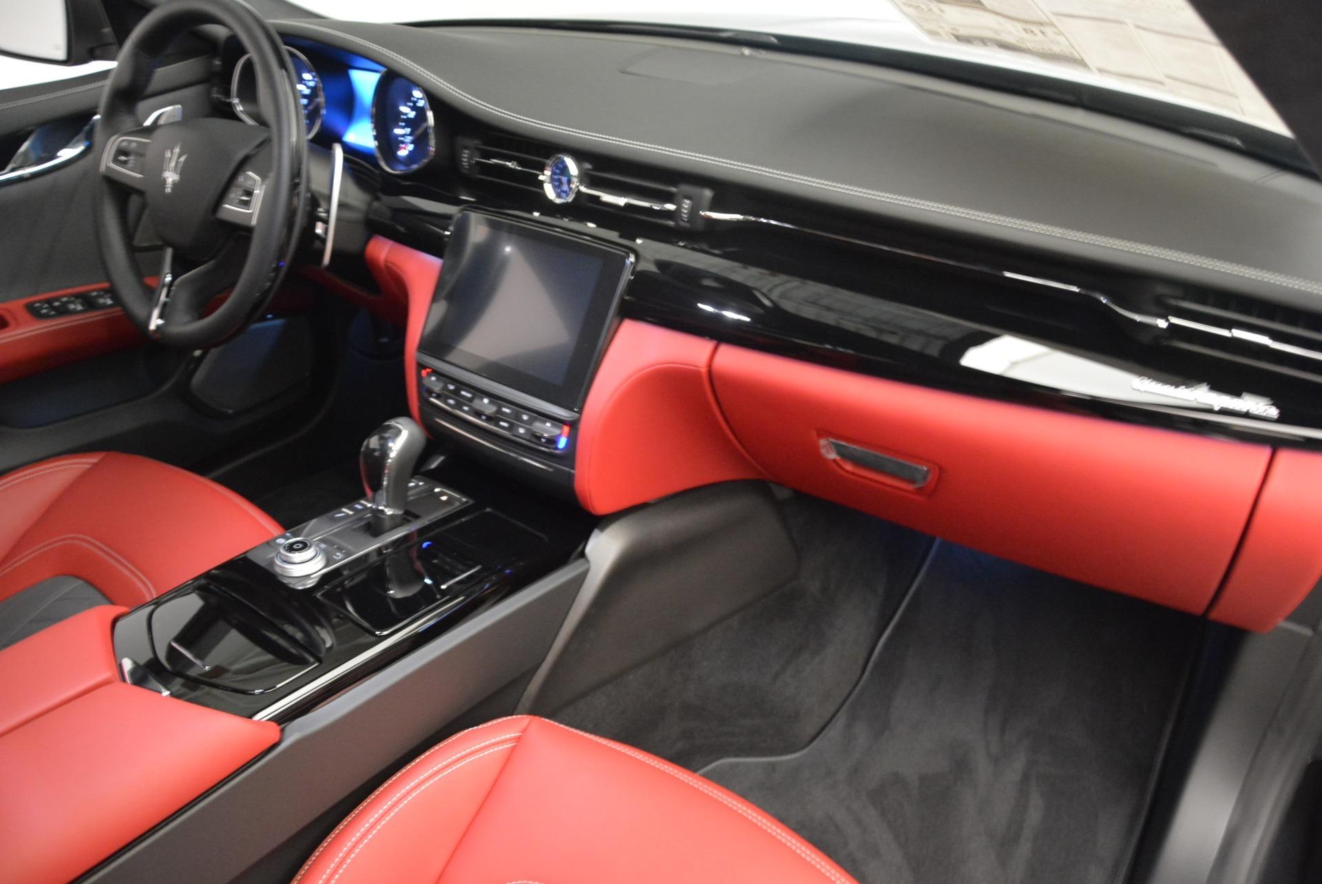 New 2018 Maserati Quattroporte S Q4 GranLusso For Sale In Westport, CT 2293_p20