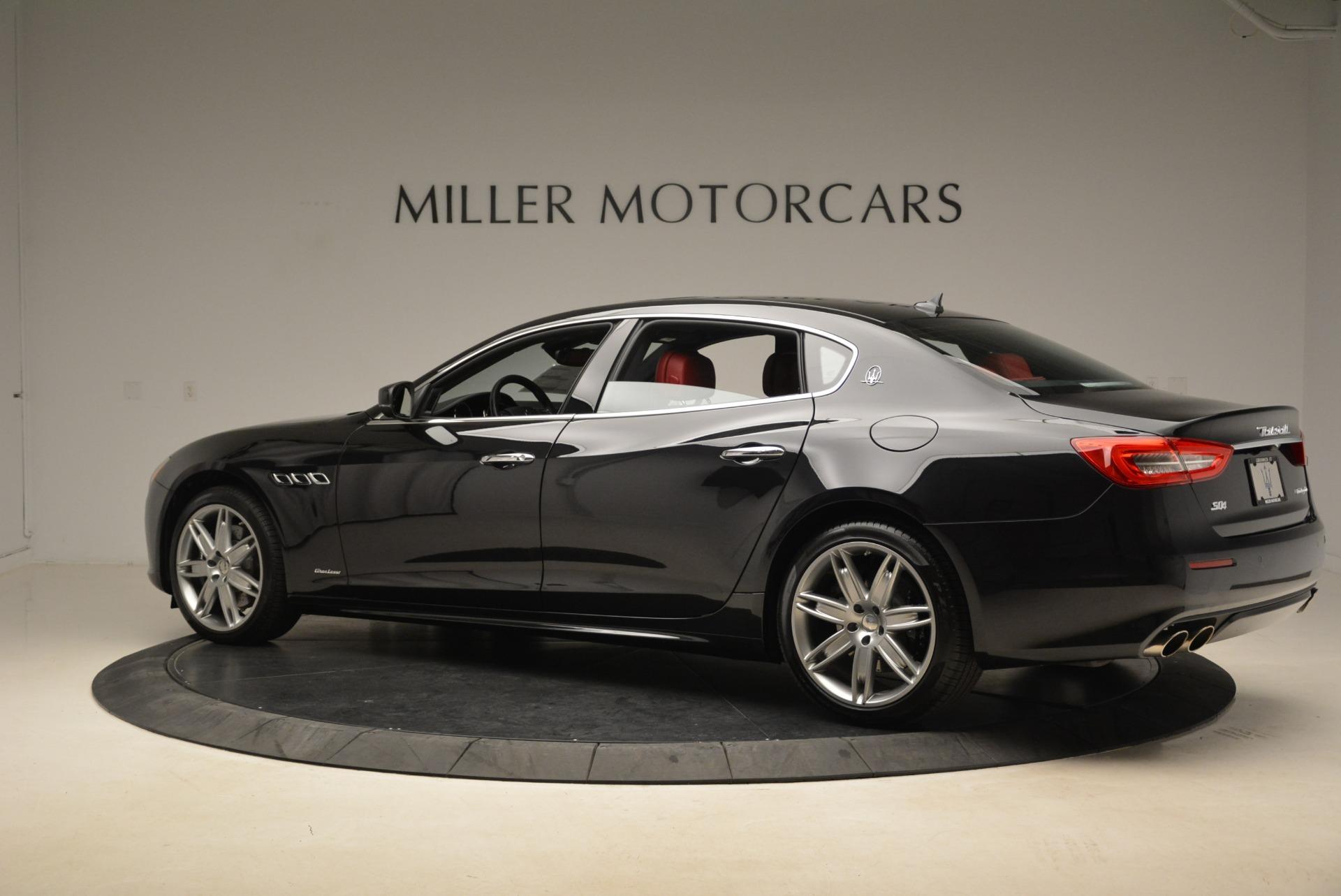 New 2018 Maserati Quattroporte S Q4 GranLusso For Sale In Westport, CT 2293_p4