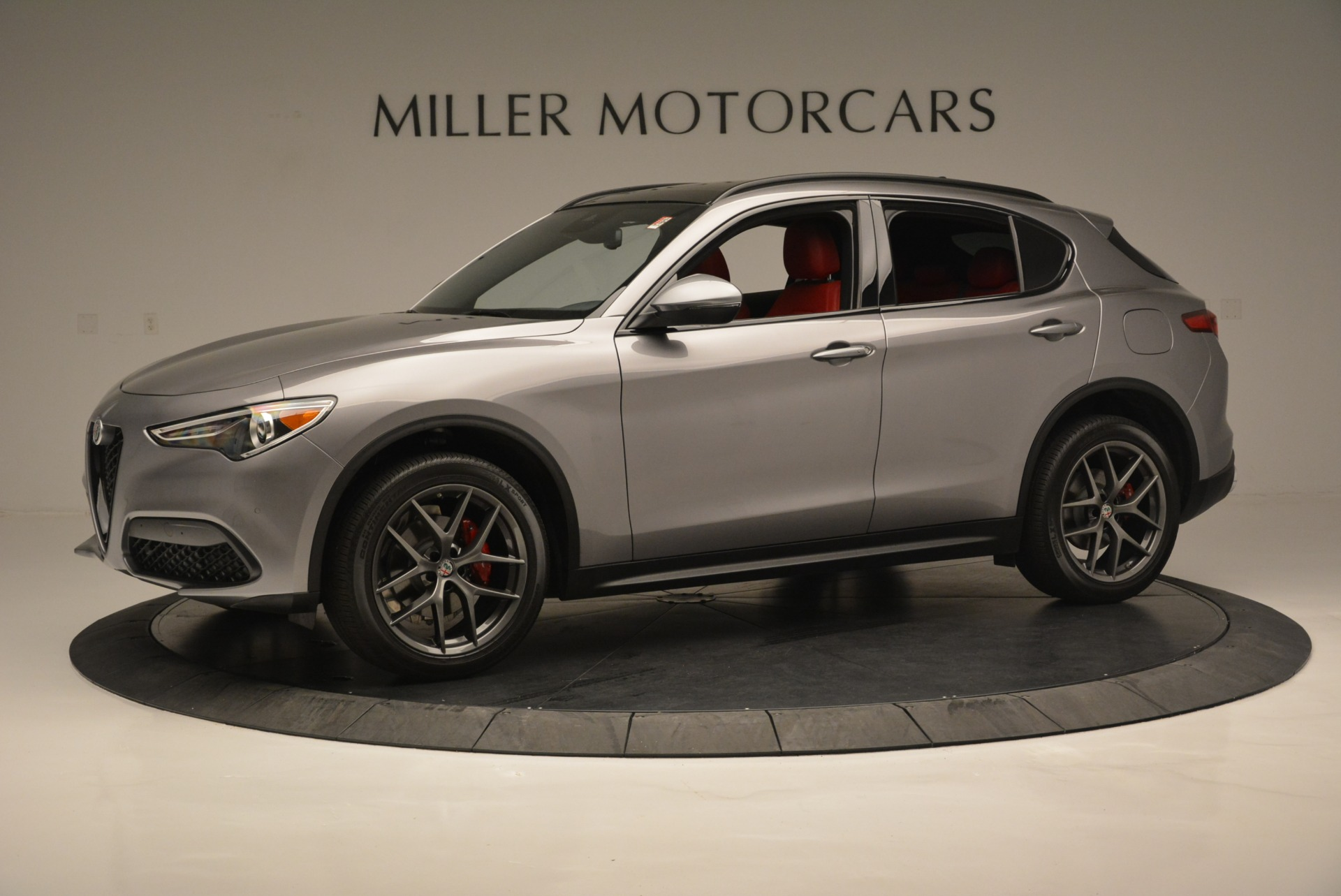 New 2018 Alfa Romeo Stelvio Ti Sport Q4 For Sale In Westport, CT 2299_p3