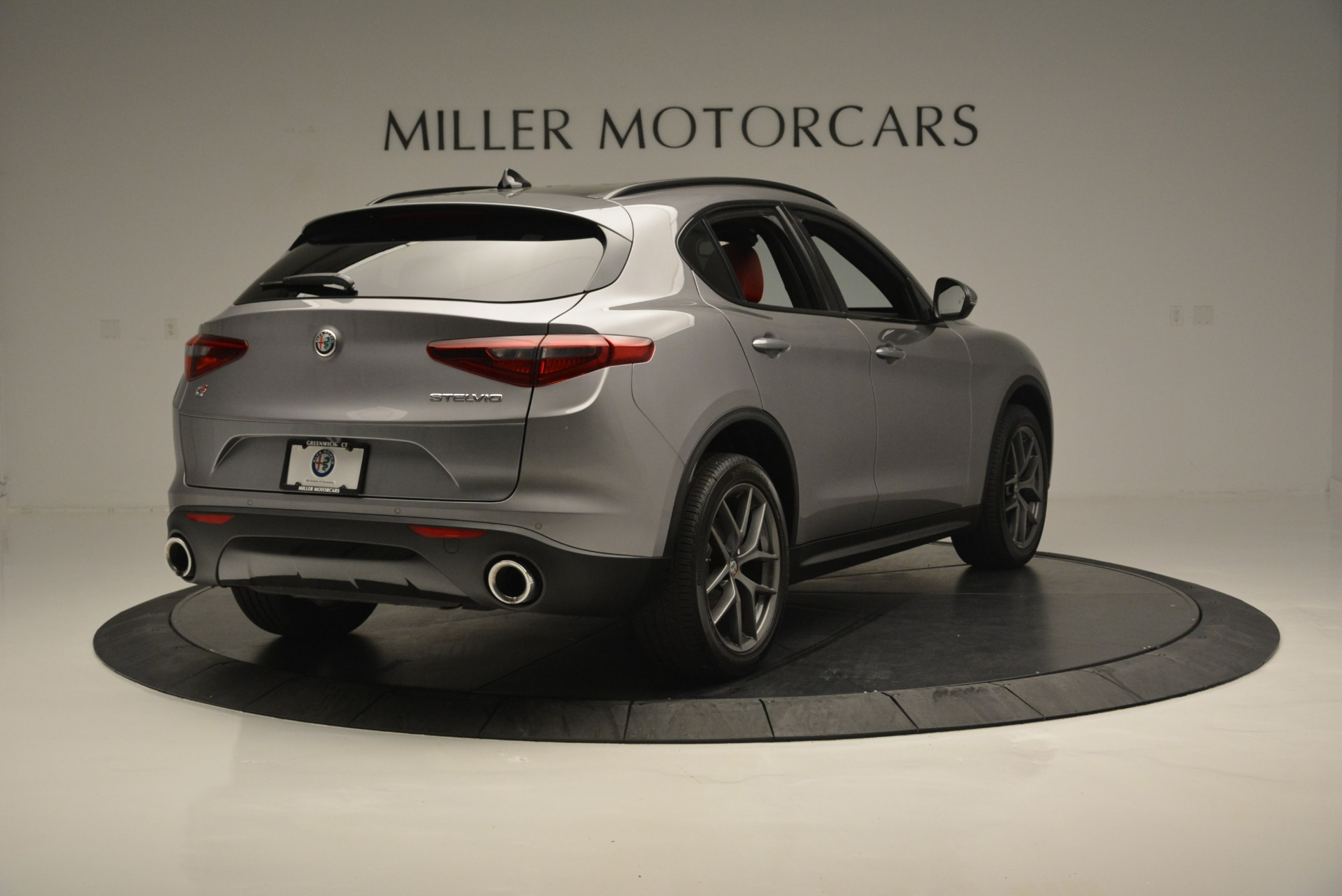 New 2018 Alfa Romeo Stelvio Ti Sport Q4 For Sale In Westport, CT 2299_p7