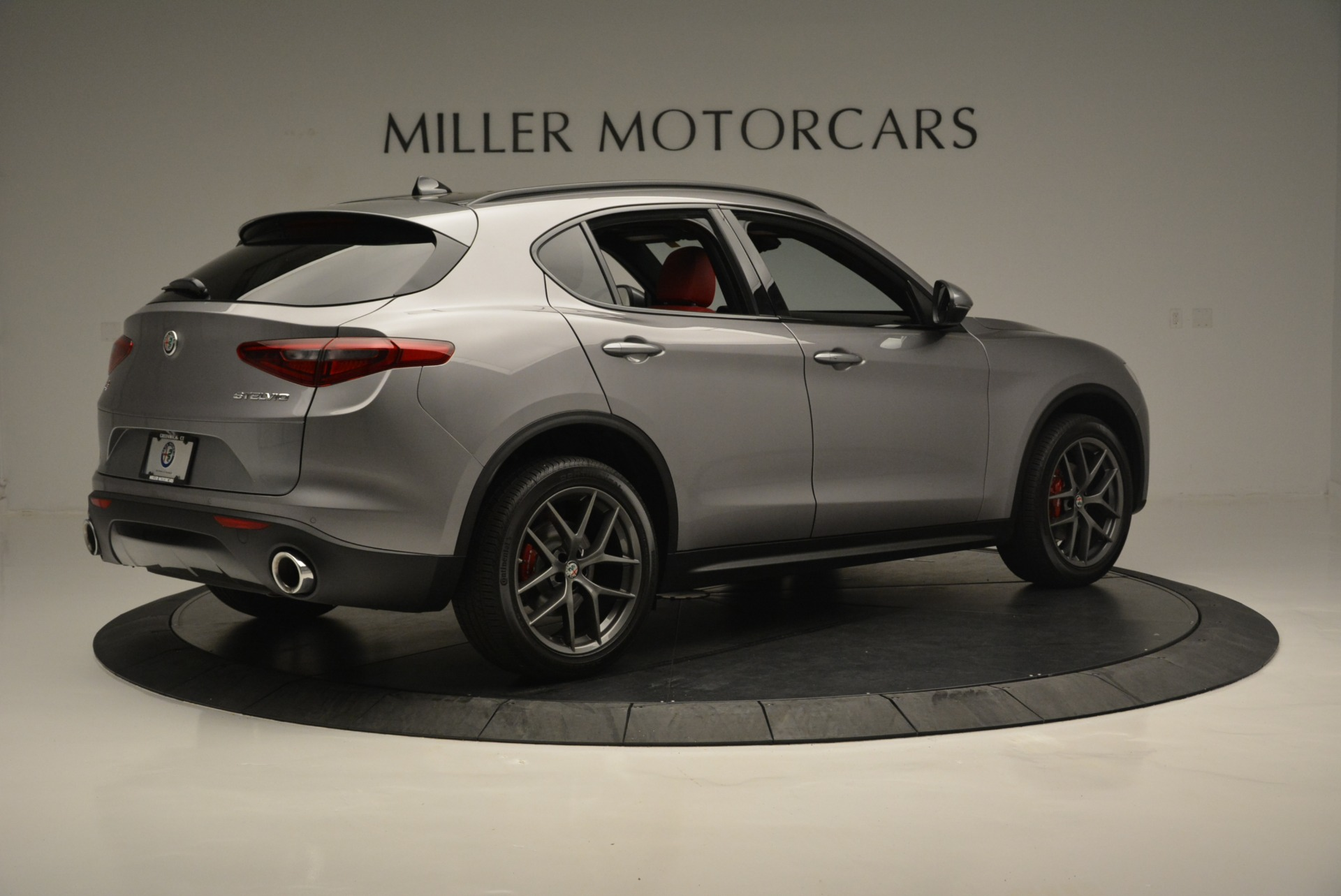 New 2018 Alfa Romeo Stelvio Ti Sport Q4 For Sale In Westport, CT 2299_p8