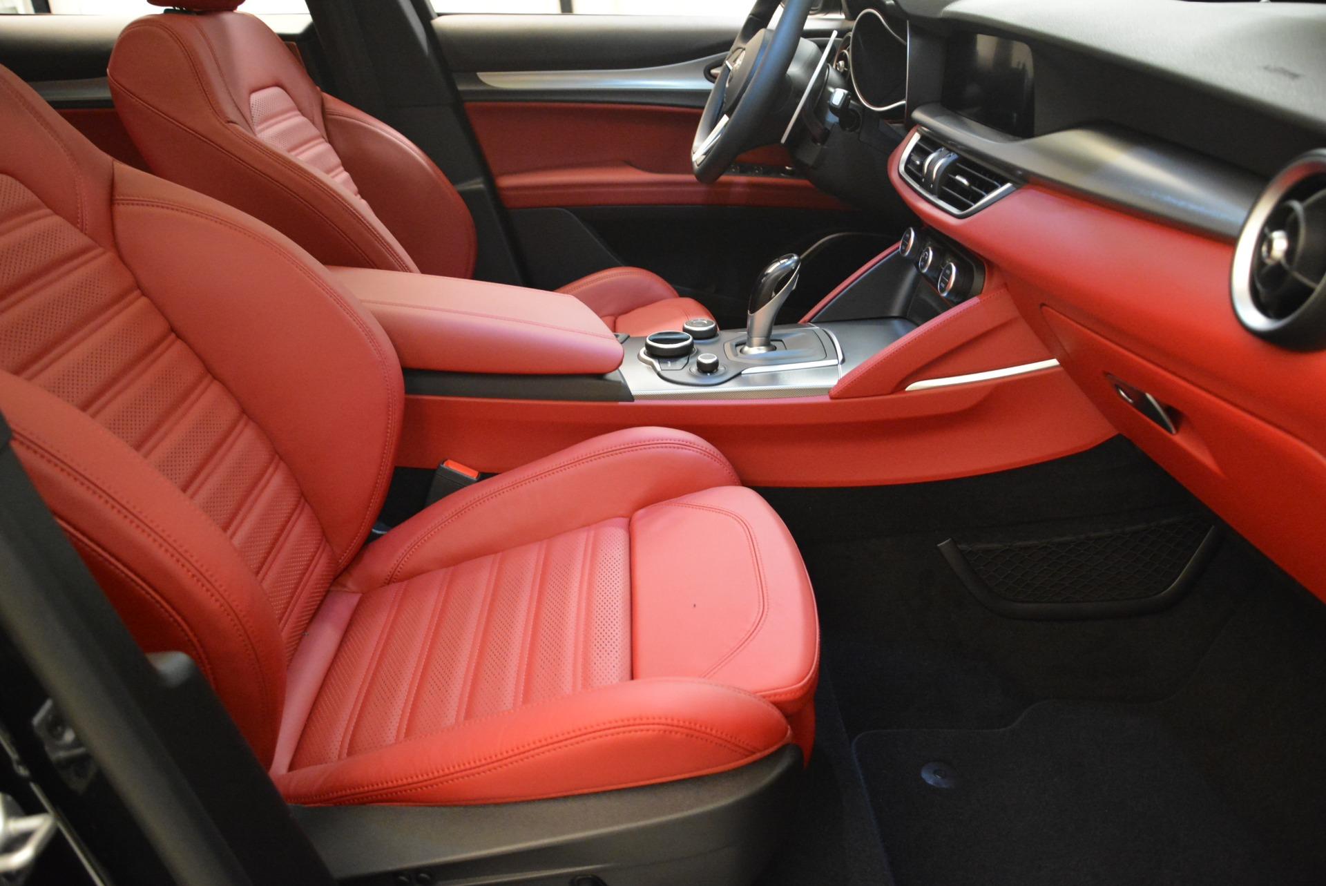New 2018 Alfa Romeo Stelvio Ti Sport Q4 For Sale In Westport, CT 2300_p15